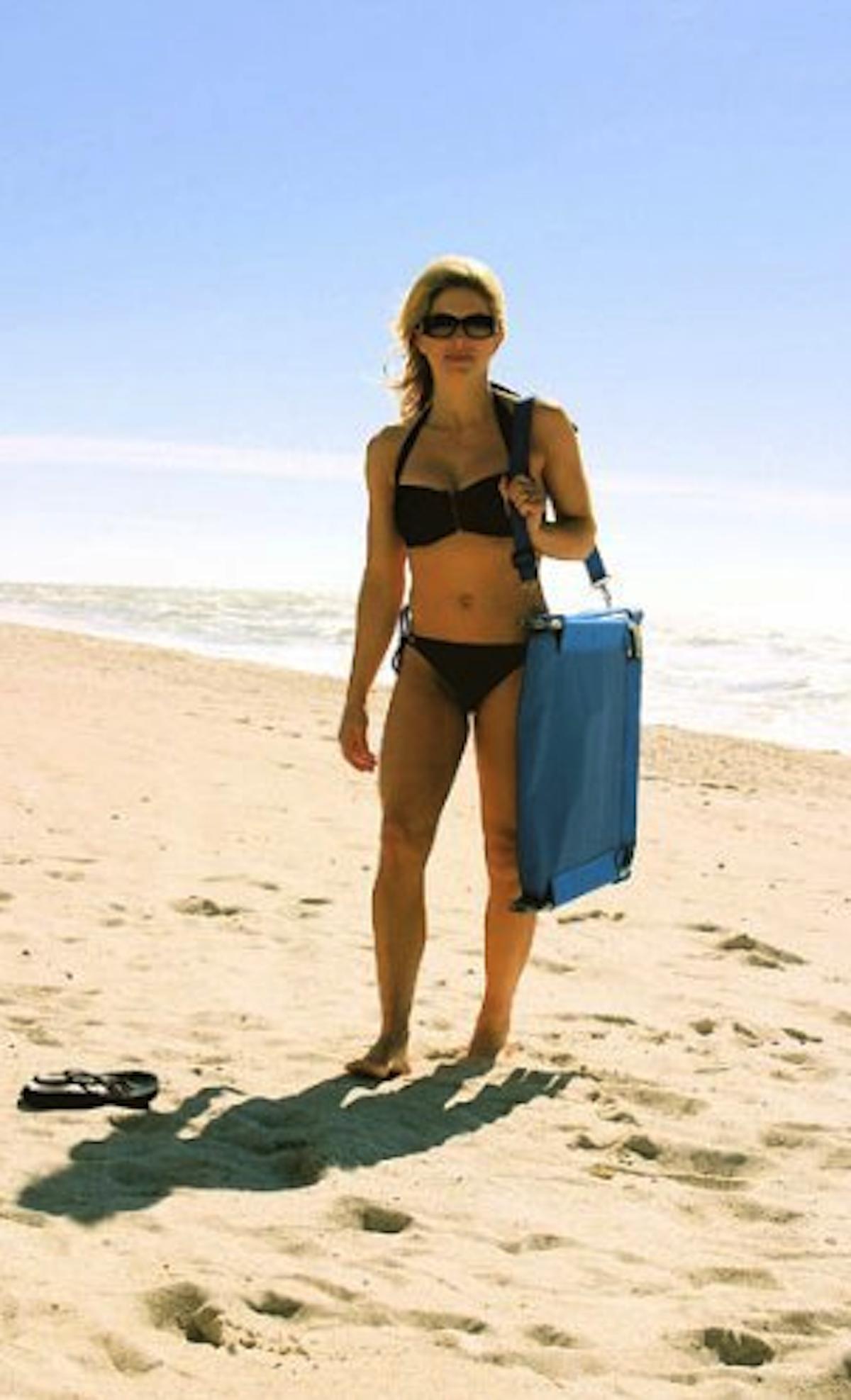Chaise longue de plage Amazon