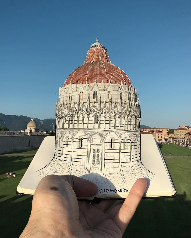 Monuments célèbres 3D Pietro Cataudella