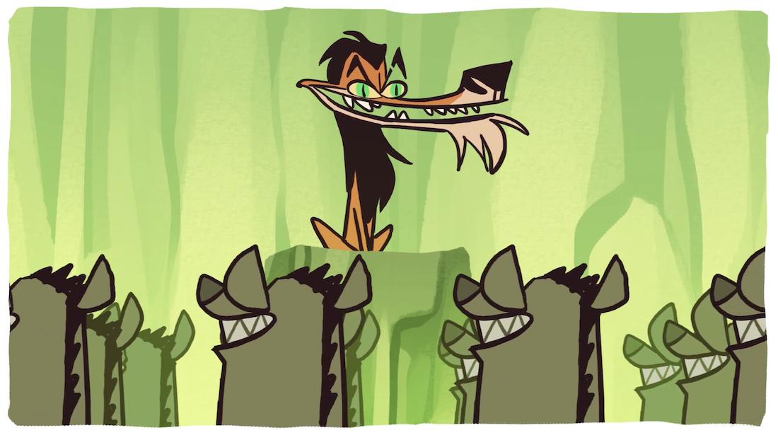 Cas Von de Pol Animation Roi Lion