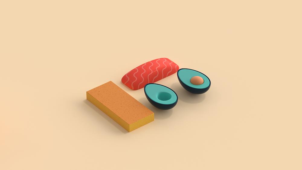 Jonathan Lindgren Court Metrage Sushi