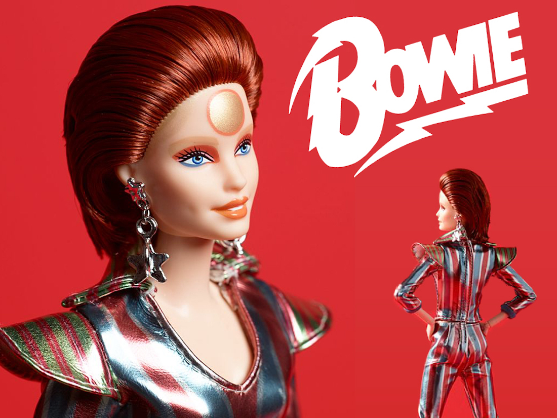 David Bowie Barbie Mattel