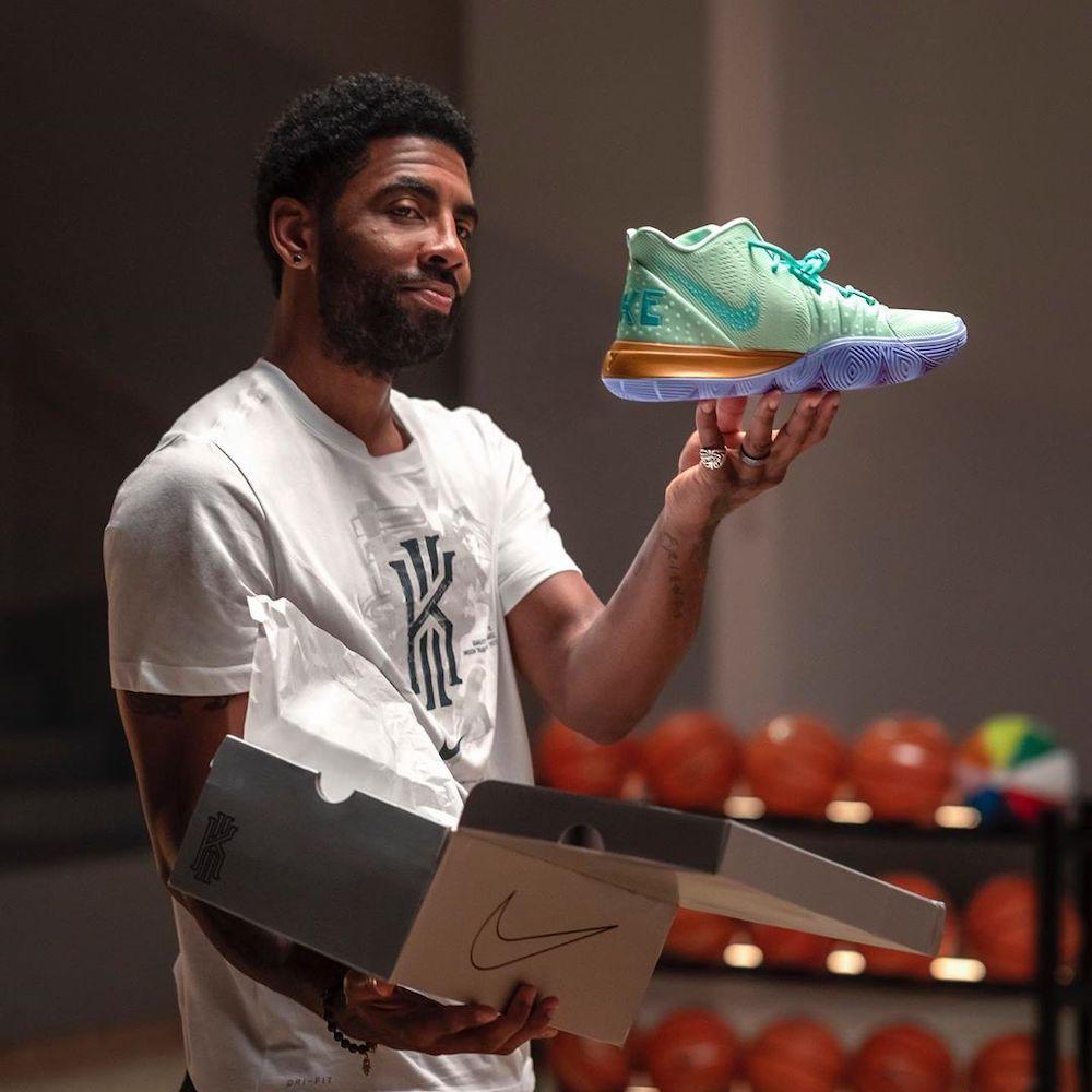 Sneakers Nike Bob l'Éponge