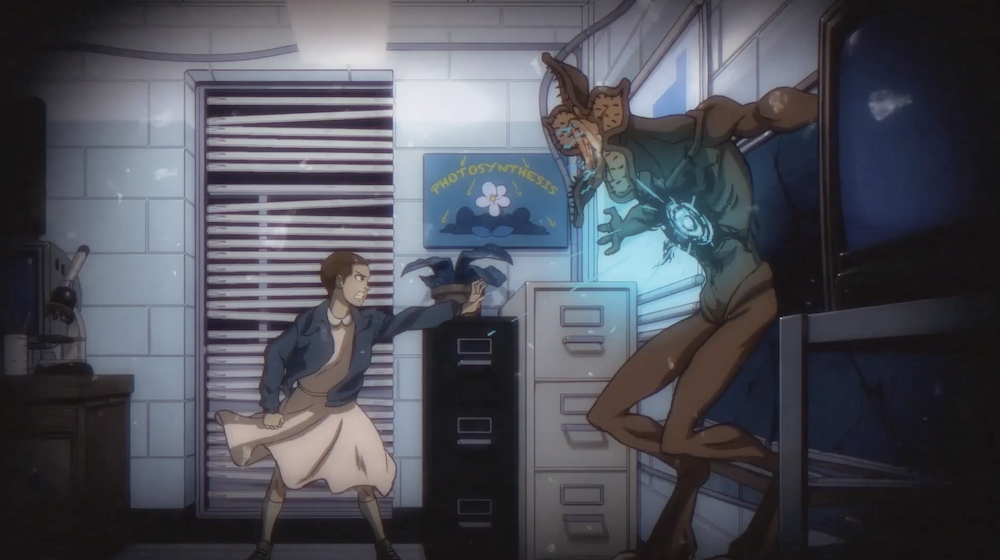 Stranger Things Anime