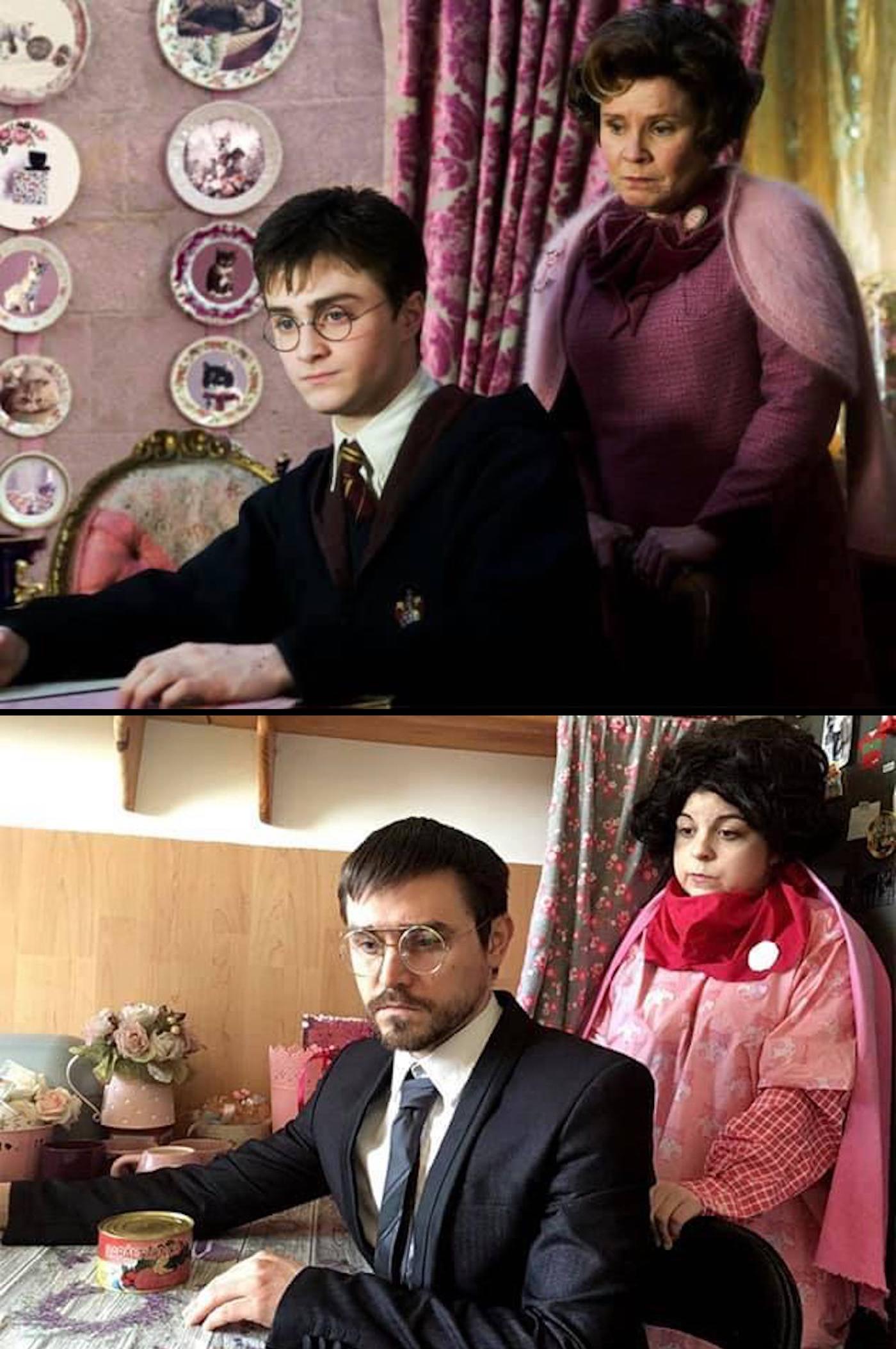 Détournement du film Harry Potter