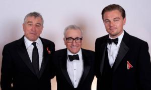 Robert De Niro, Martin Scorsese et Leonardo DiCaprio