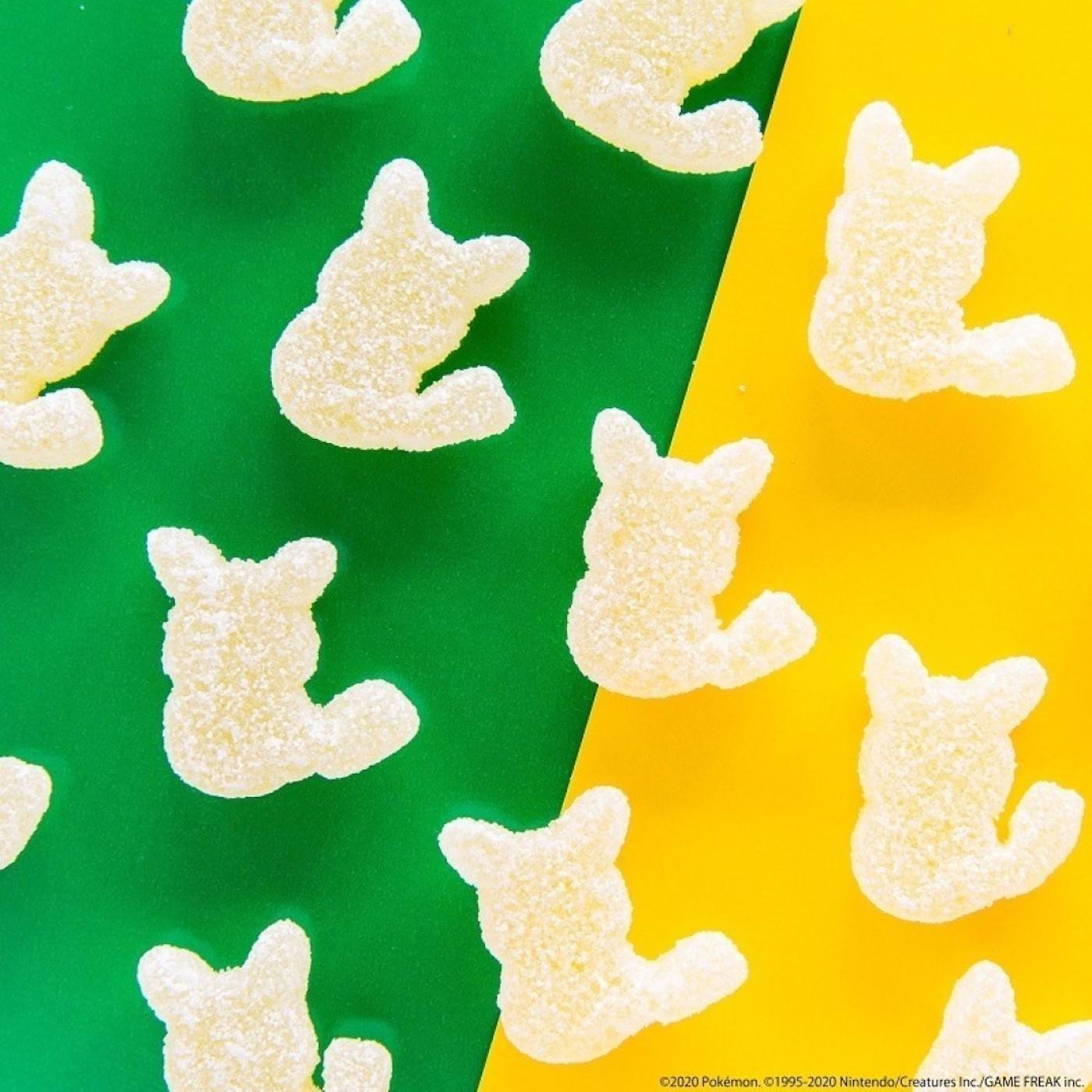 Des bonbons Pikachu dévoilé par la société Kanro au Japon.