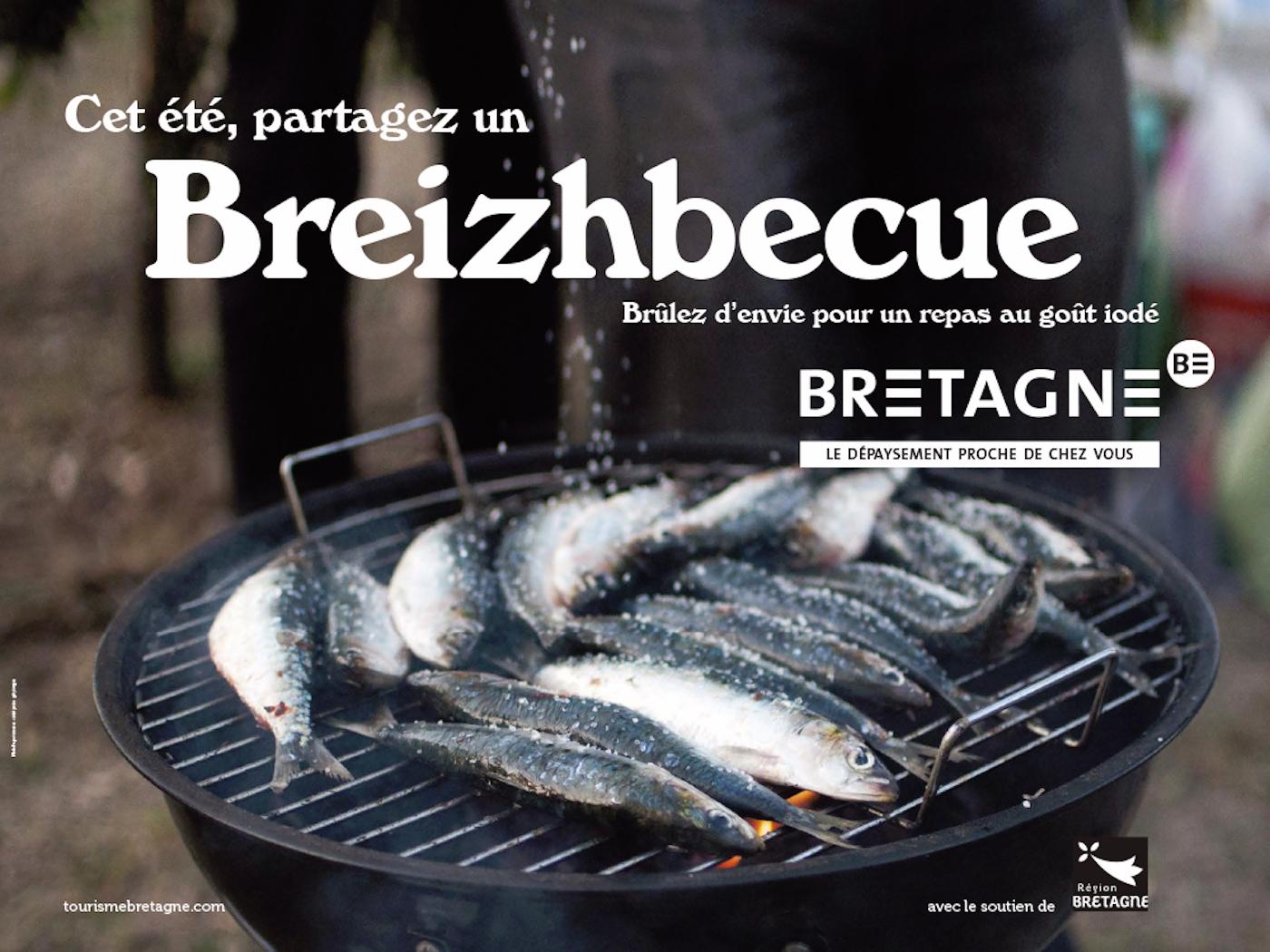 Breizhbecue : la campagne de pub pour le tourisme en Bretagne