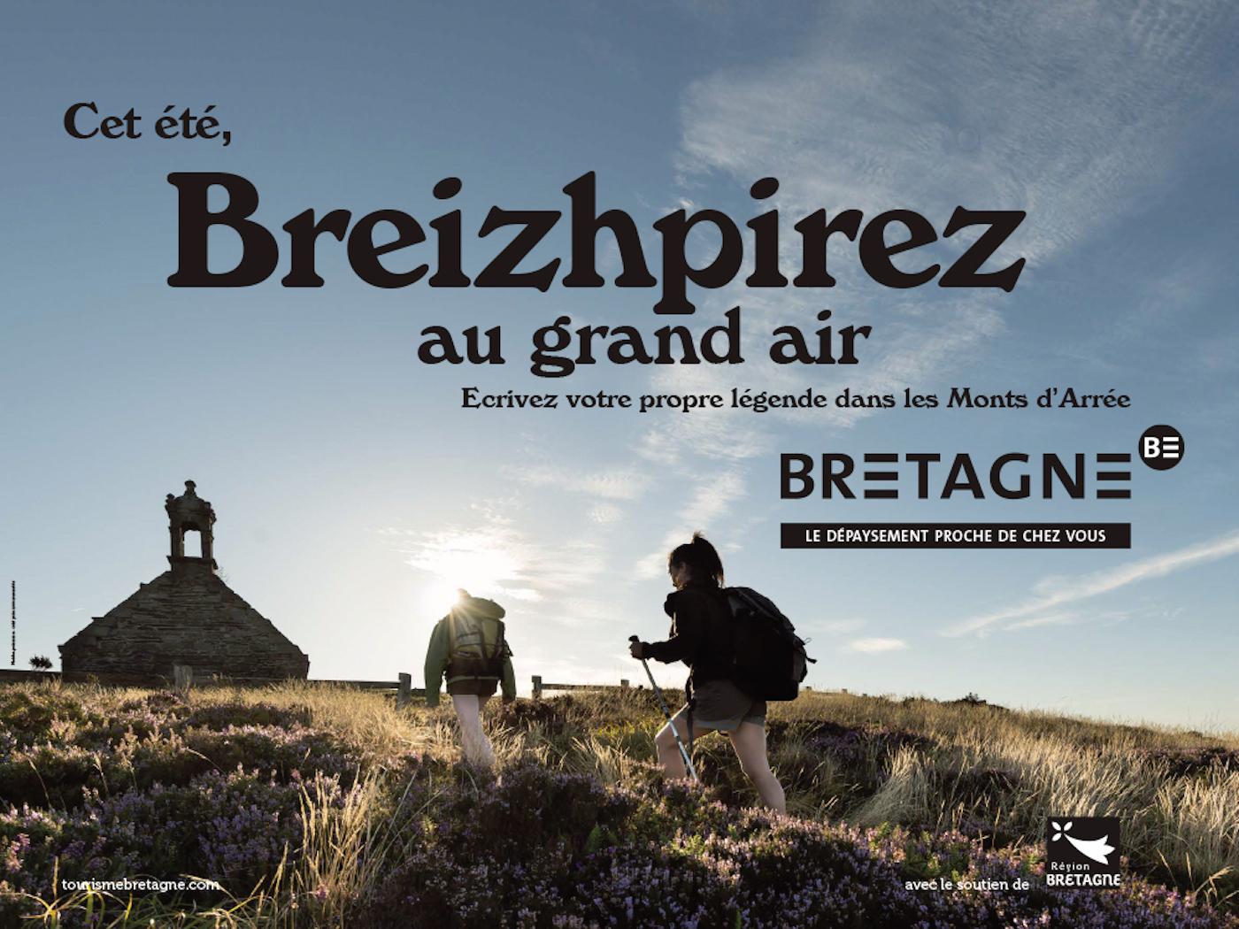 Breizhpirez : la campagne de pub pour le tourisme en Bretagne