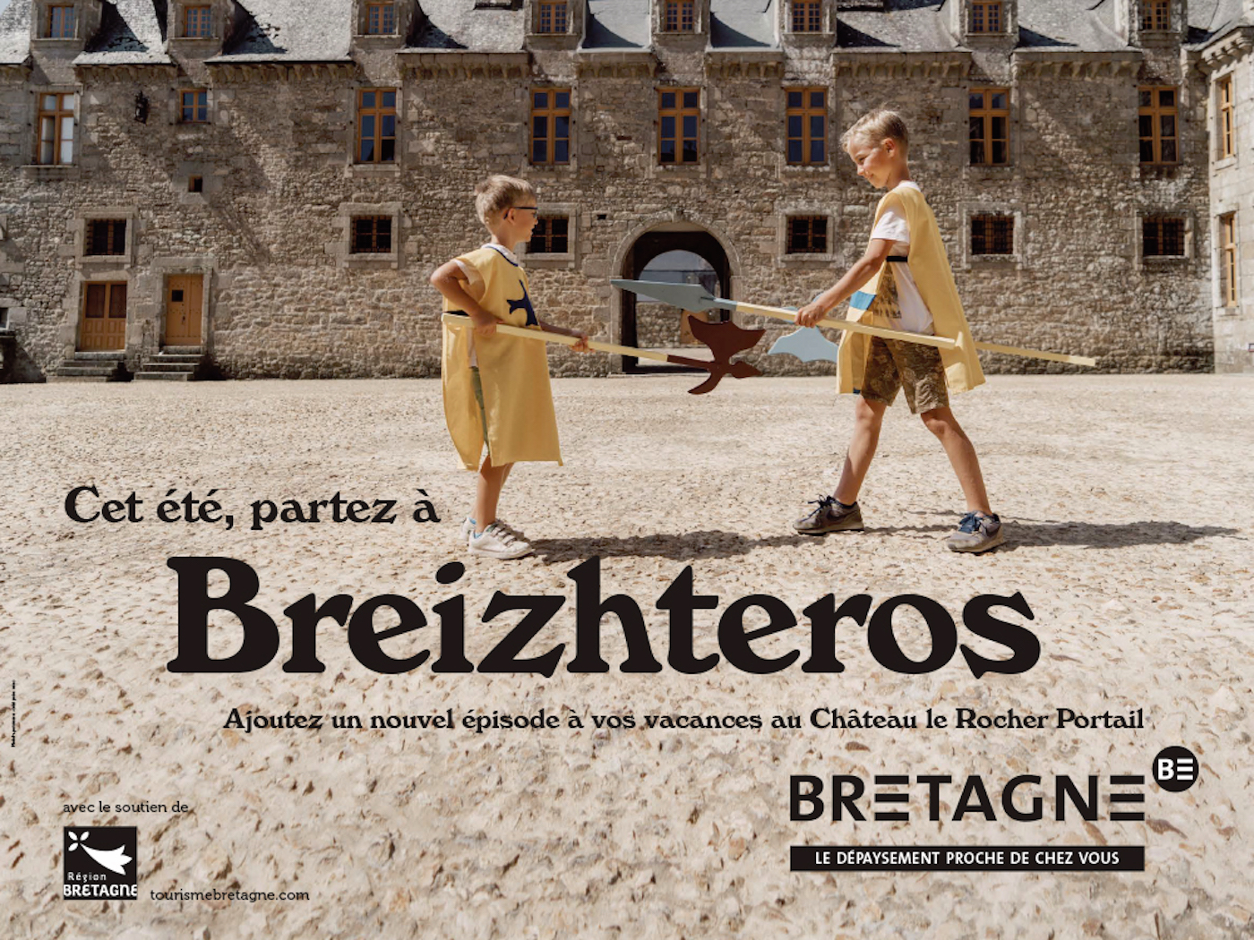 Breizhteros : la campagne de pub pour le tourisme en Bretagne