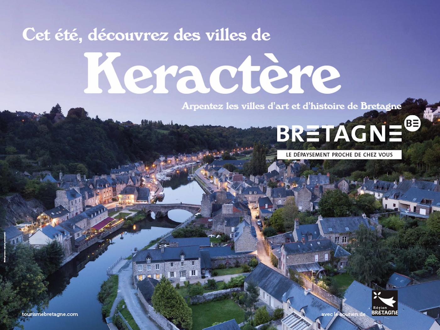 Keractère : la campagne de pub pour le tourisme en Bretagne