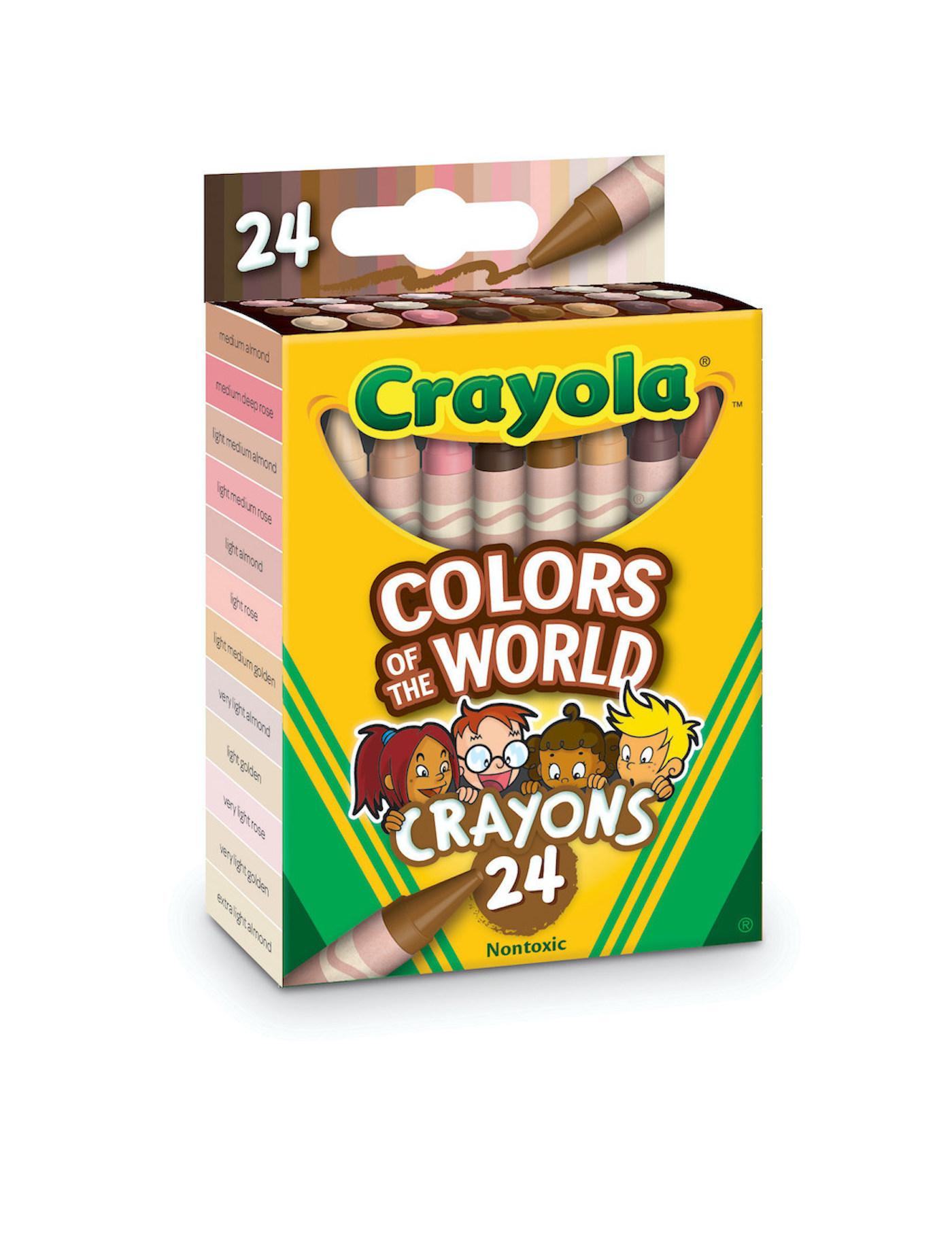 Colors of the World : les crayons de Crayola qui représentent plus de 40 teintes de peau