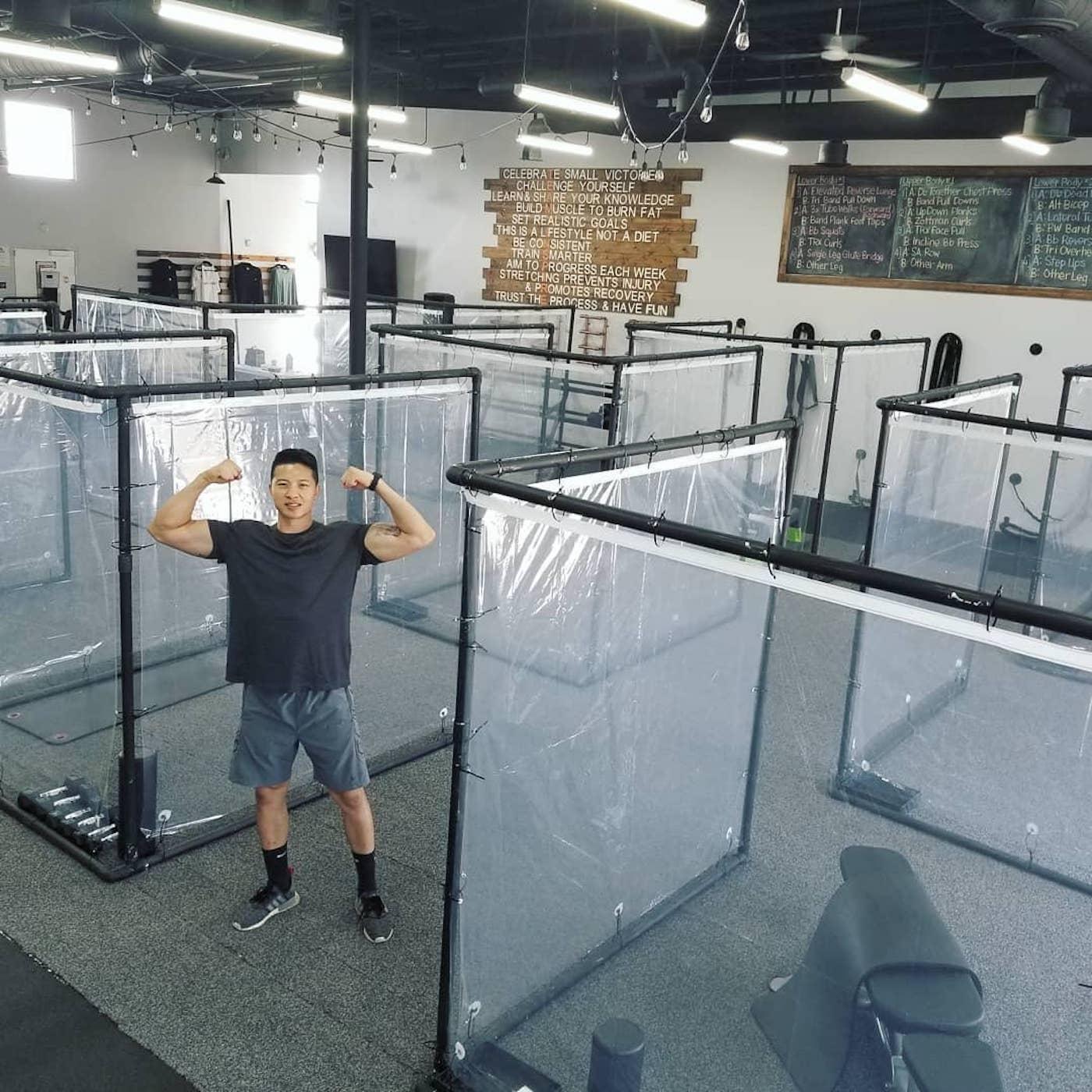 En Californie, cette salle de sport montre sa réouverture après l'épidémie