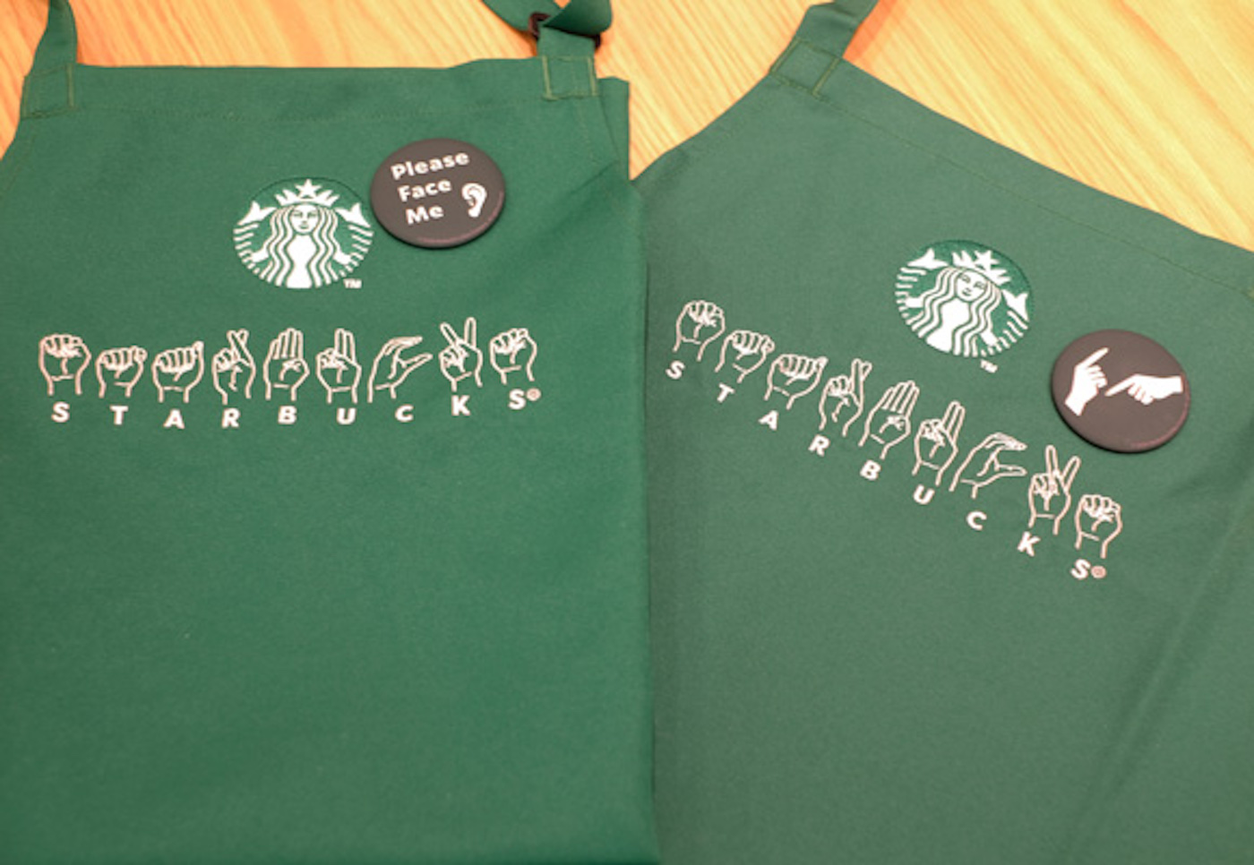 Au Japon, Starbucks ouvre une boutique dédiée à la langue des signes