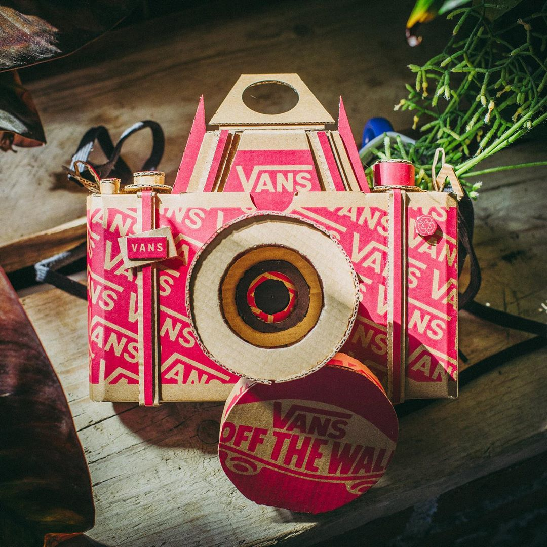 Vans motive ses clients à recycler ses boîtes de chaussures avec créativité