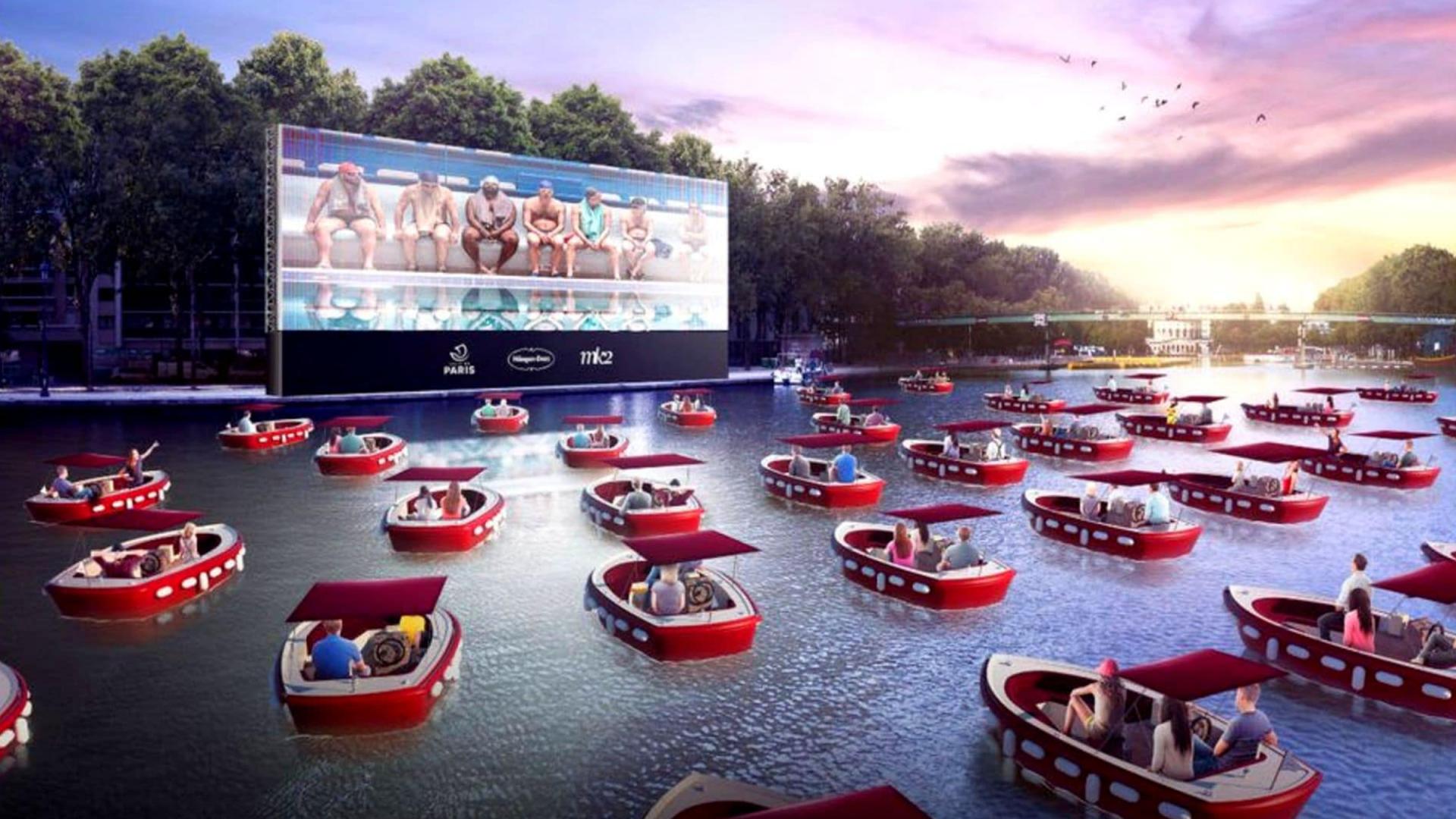 Paris : une séance de cinéma sur l'eau le 18 juillet sur le bassin de la Villette