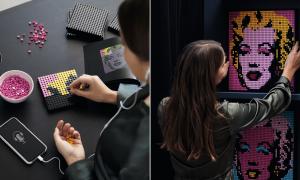 LEGO Art : des kits LEGO pour assembler vos tableaux vous-même