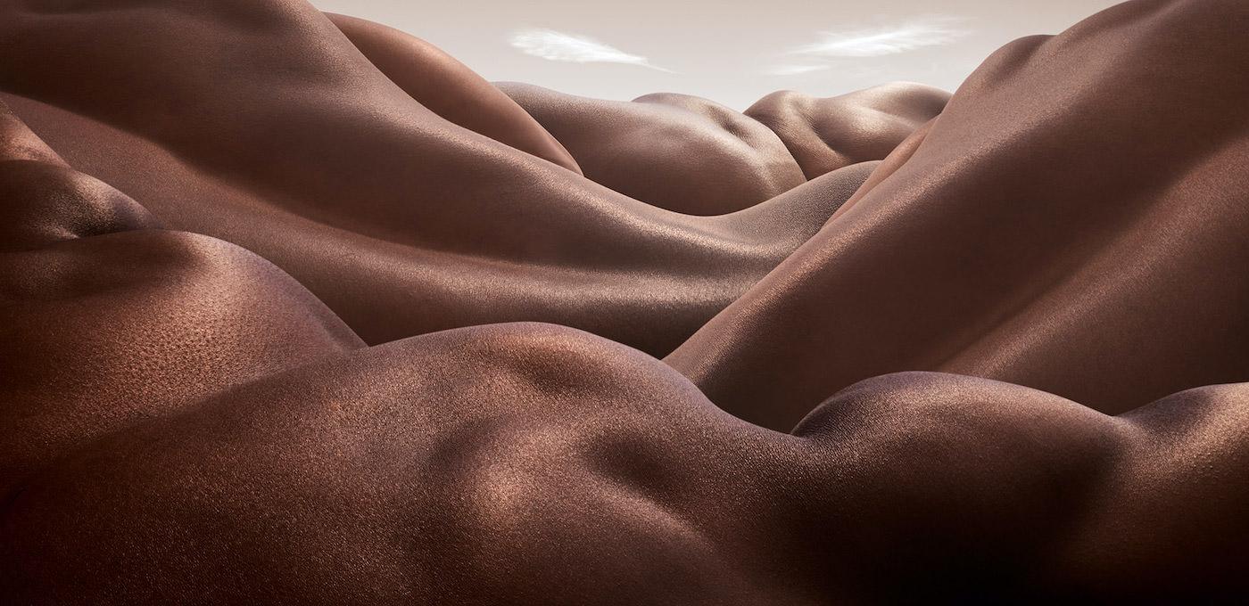 Bodyscapes : les paysages humains de Carl Warner