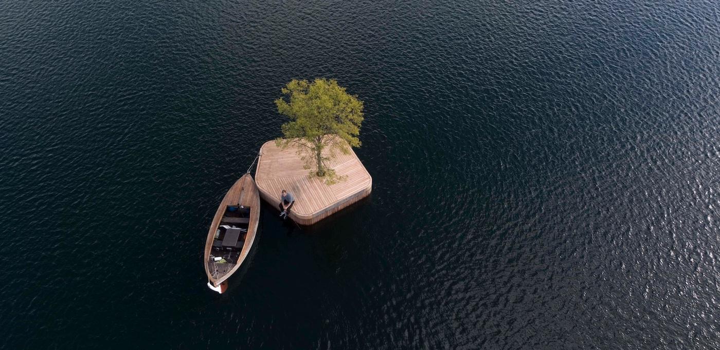 Copenhague : des îles flottantes et modulables pour se relaxer