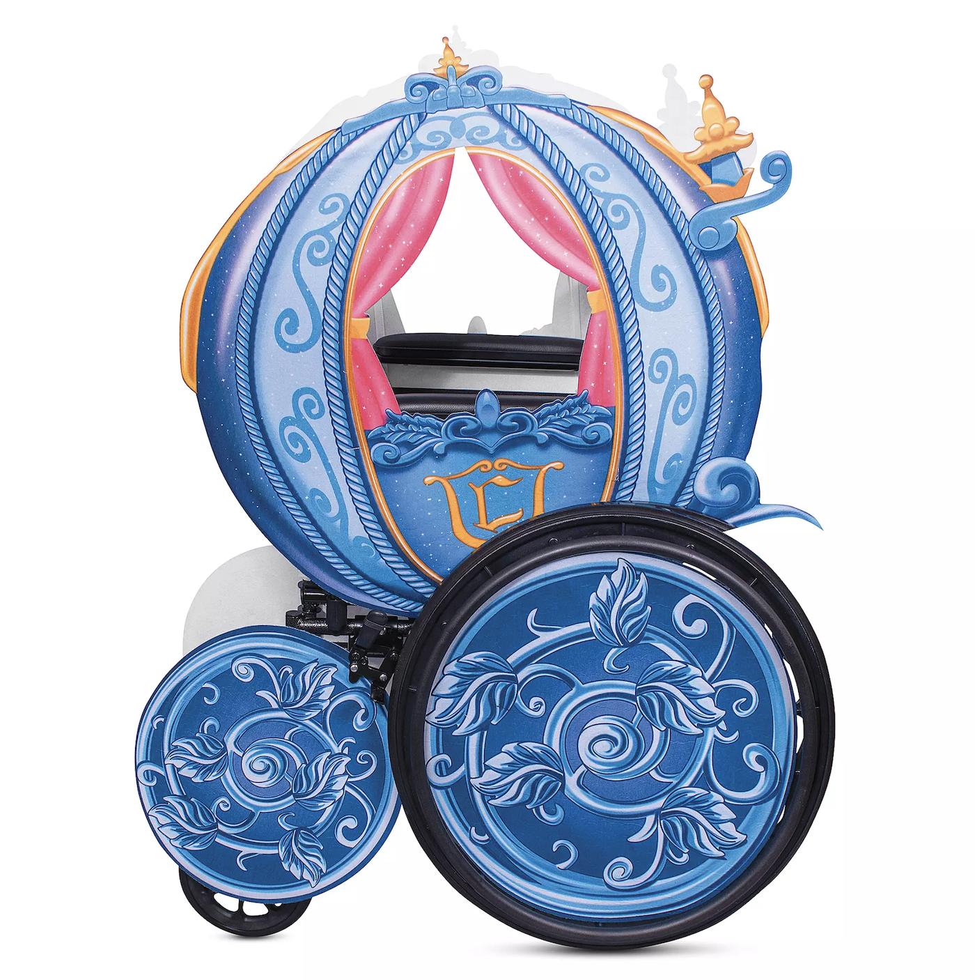 Disney commercialise des housses pour décorer les fauteuils roulants