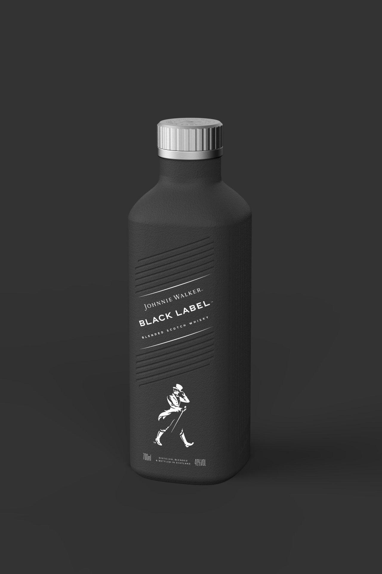 Johnnie Walker prépare une bouteille conçue 100% en papier pour 2021