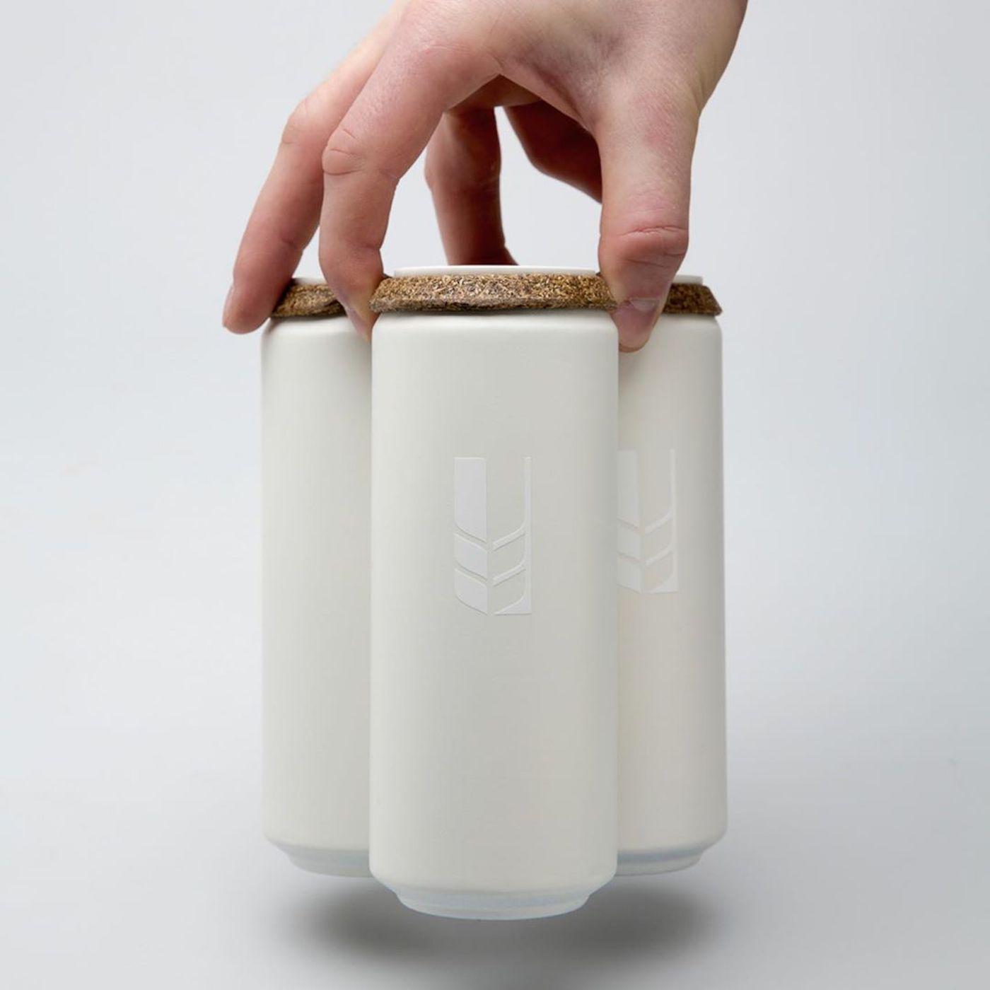 Transformer les résidus du brassage de la bière en packaging biodégradable