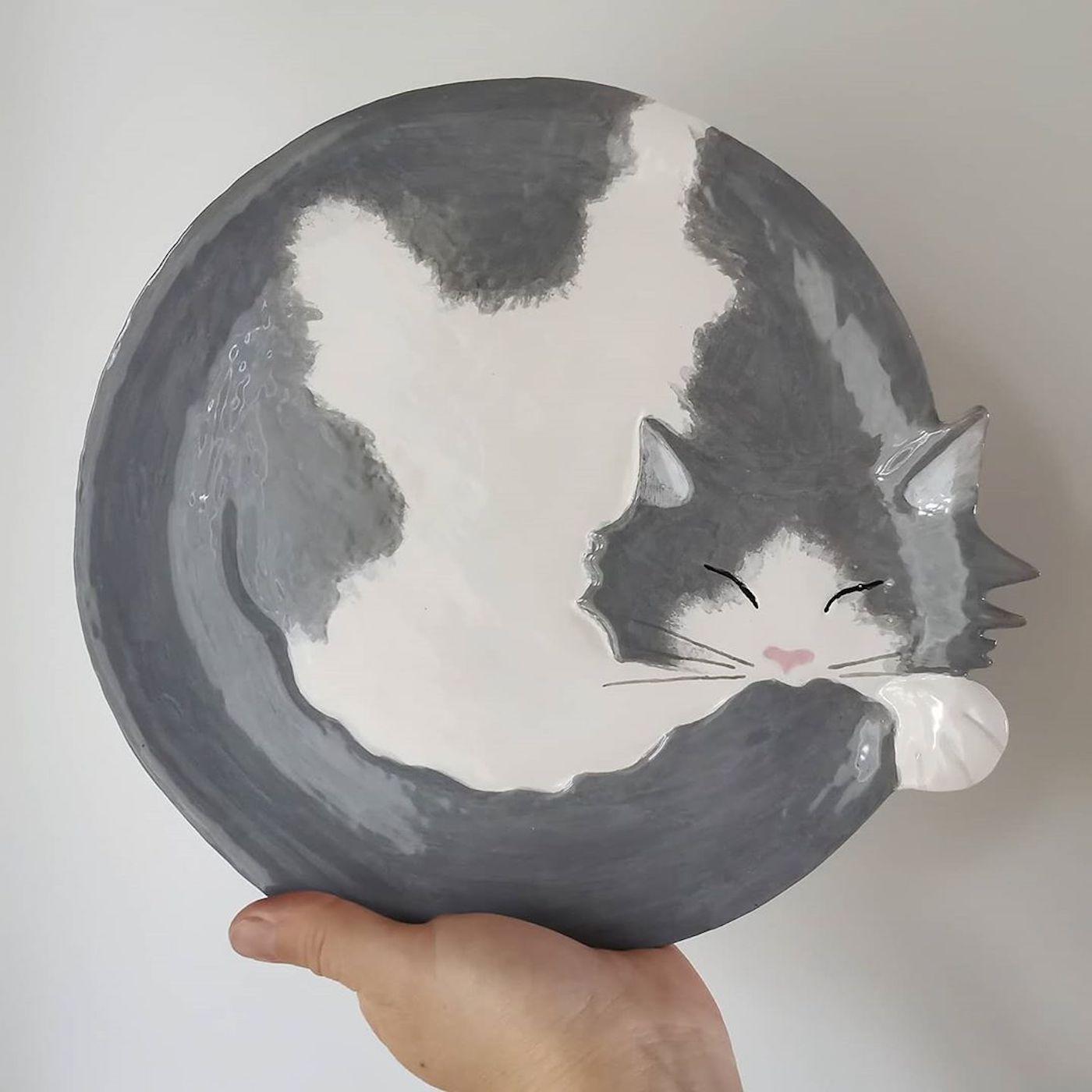 Les assiettes parfaites pour les amoureux des chats