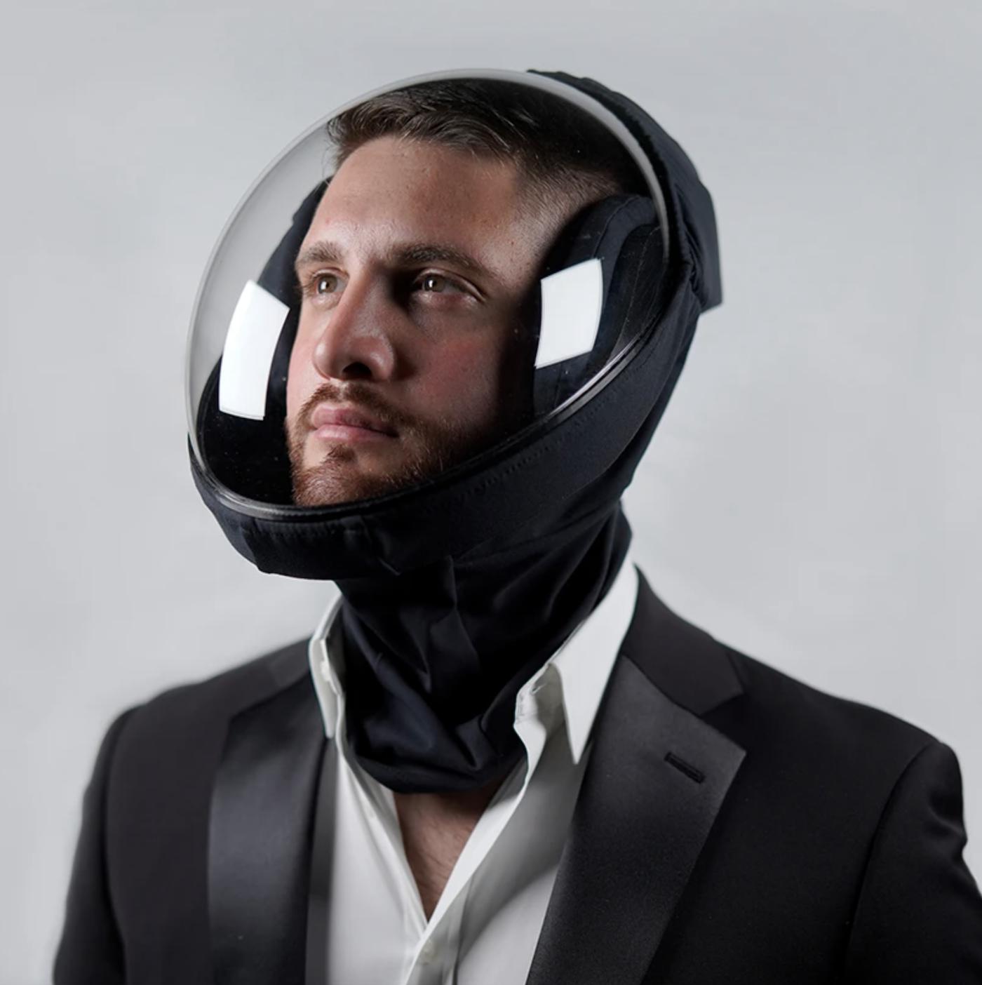 MicroClimate : un casque futuriste pour se protéger du Covid-19