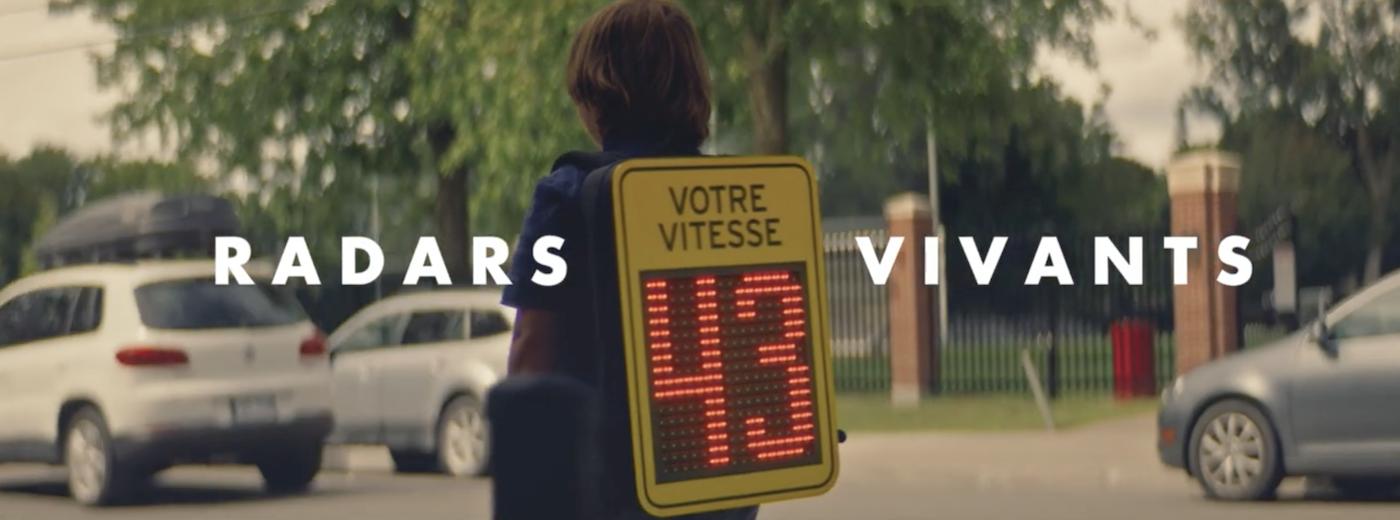 Des enfants radars sensibilisent les automobilistes près des écoles