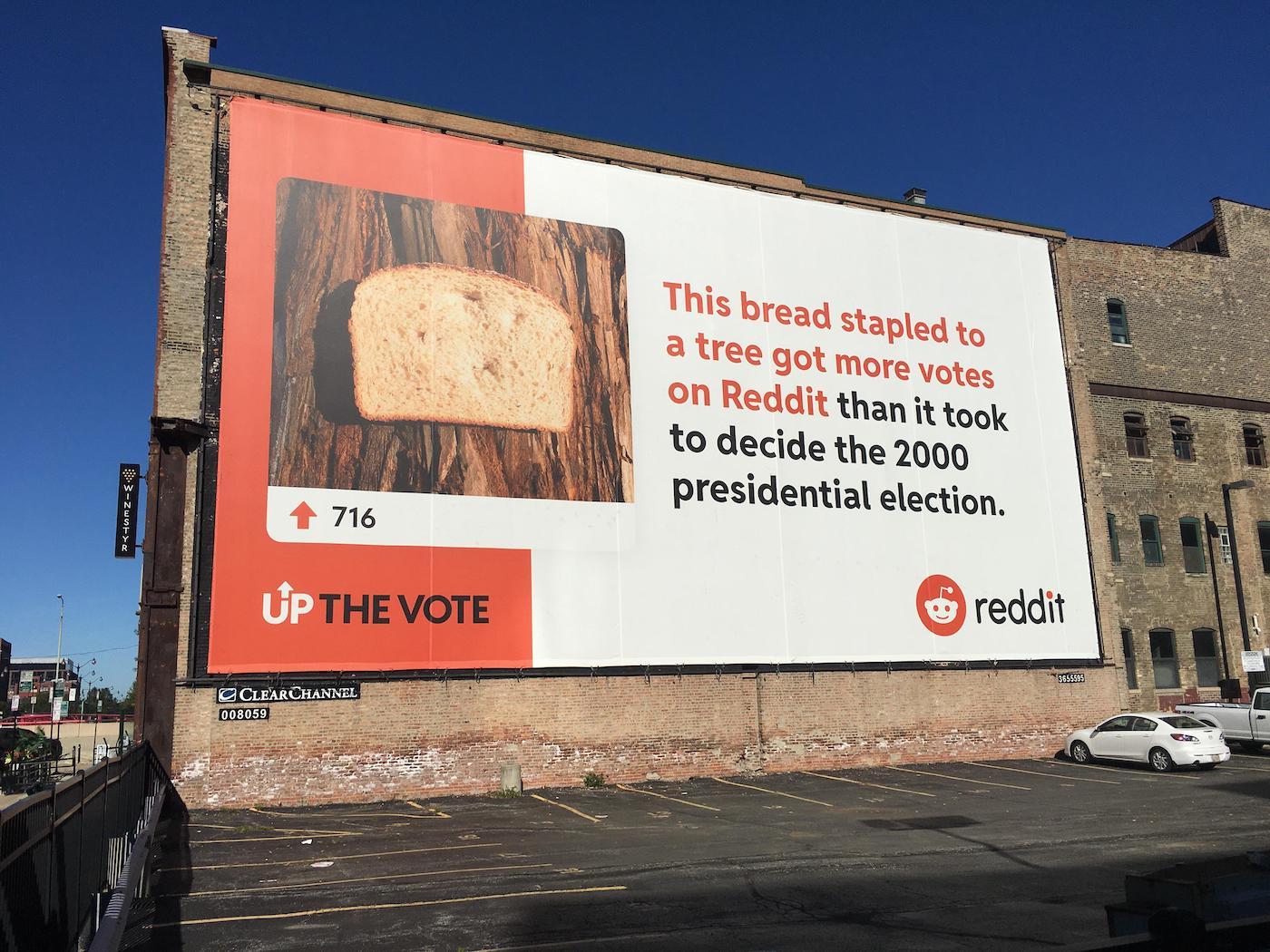 Reddit lance une campagne insolite et créative pour encourager à voter pour la présidentielle