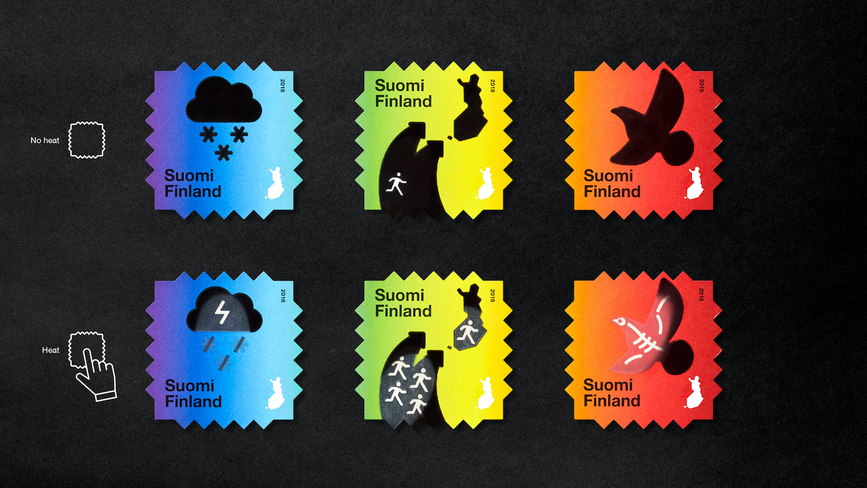 En Finlande, la poste sort des timbres qui sensibilisent au réchauffement climatique