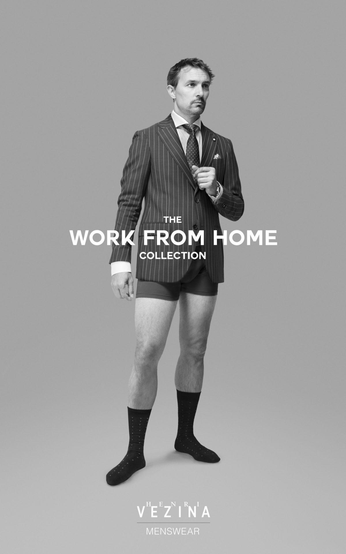 La marque canadienne Henri Vézina lance une ligne de vêtements pour le télétravail