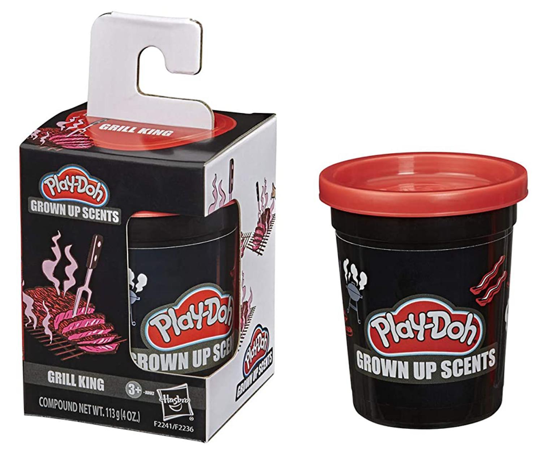 """Steak grillé, herbe coupée : Play-Doh lance des pâtes à modeler avec des """"odeurs d'adultes"""""""