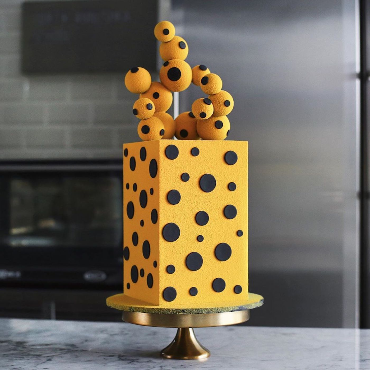 Les incroyables gâteaux du pâtissier russe Rustam Kungurov