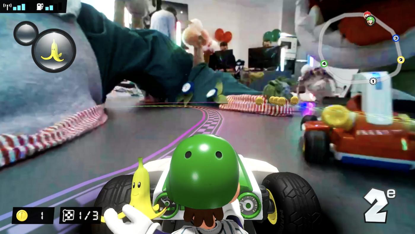 Gémo crée un circuit de vêtements et de chaussures pour Mario Kart Live