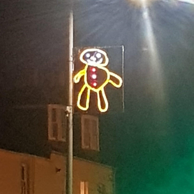 La ville de Newburgh a transformé les dessins des enfants en illuminations de Noël