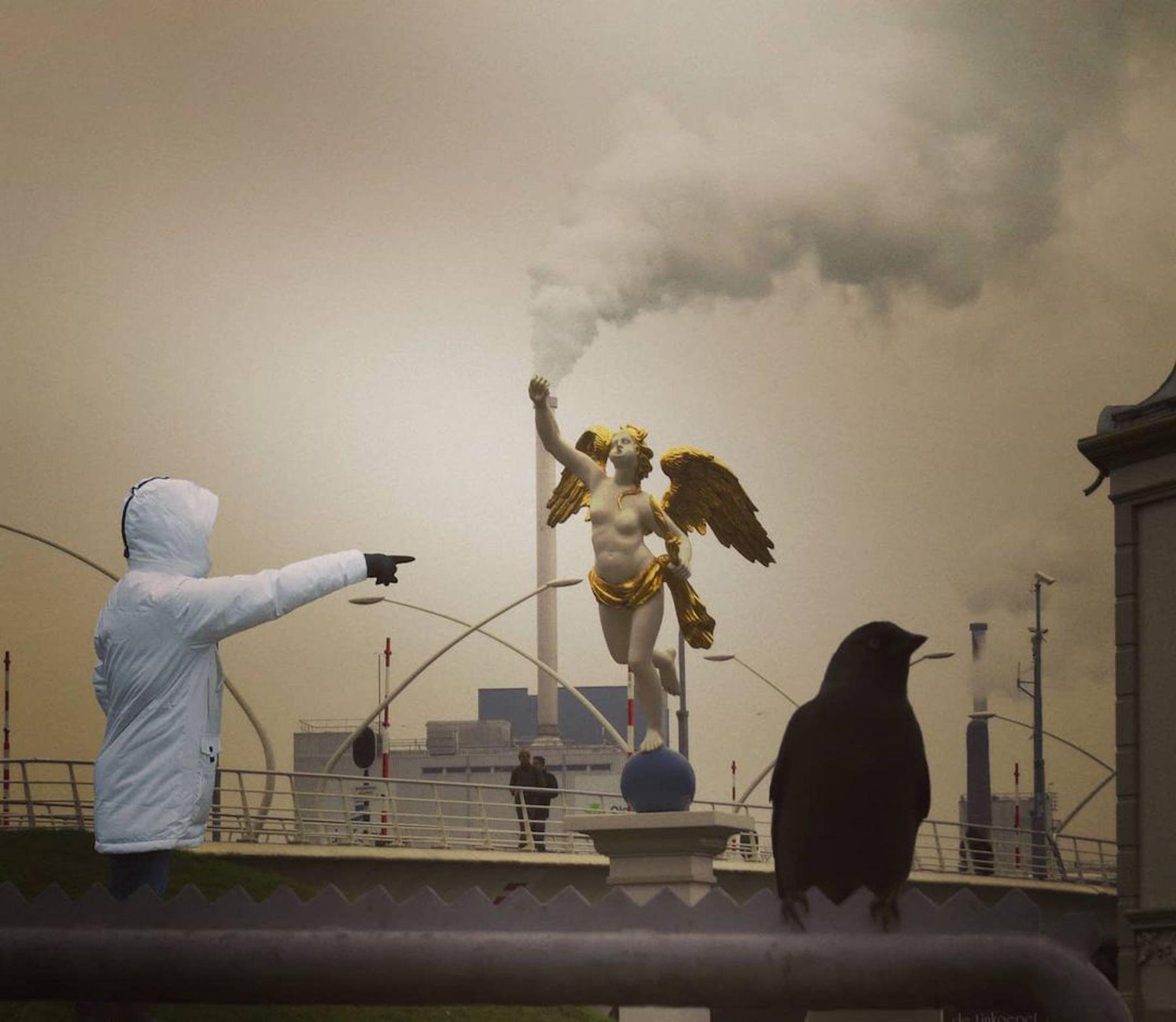 Le photographe Anthimos Ntagkas s'amuse à capturer des hasards insolites dans ses promenades du quotidien