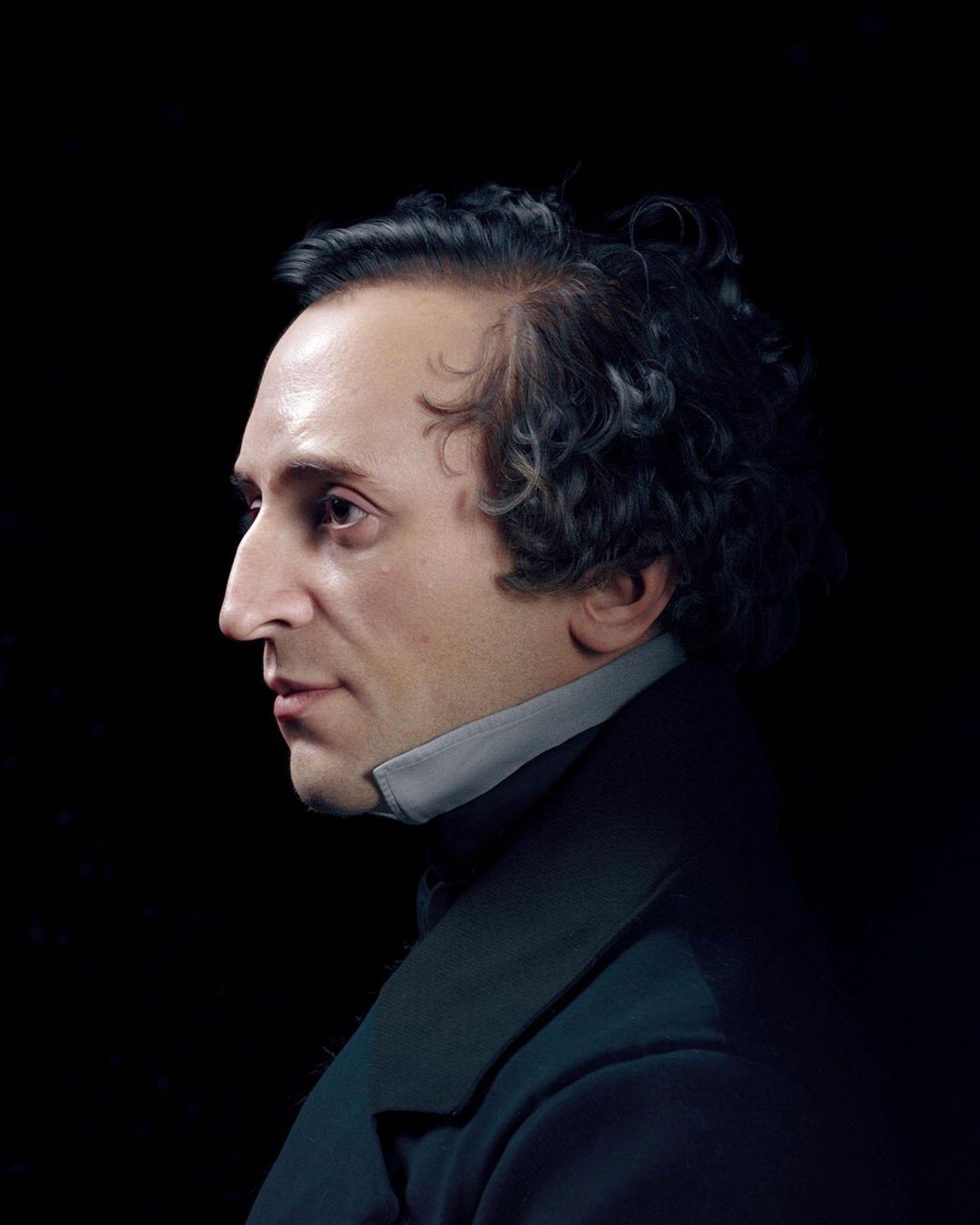 L'artiste Hadi Karimi redonne vie aux compositeurs célèbres avec des portraits 3D