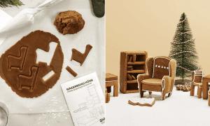 Pour Noël, IKEA sort des notices pour recréer ses meubles en pain d'épices