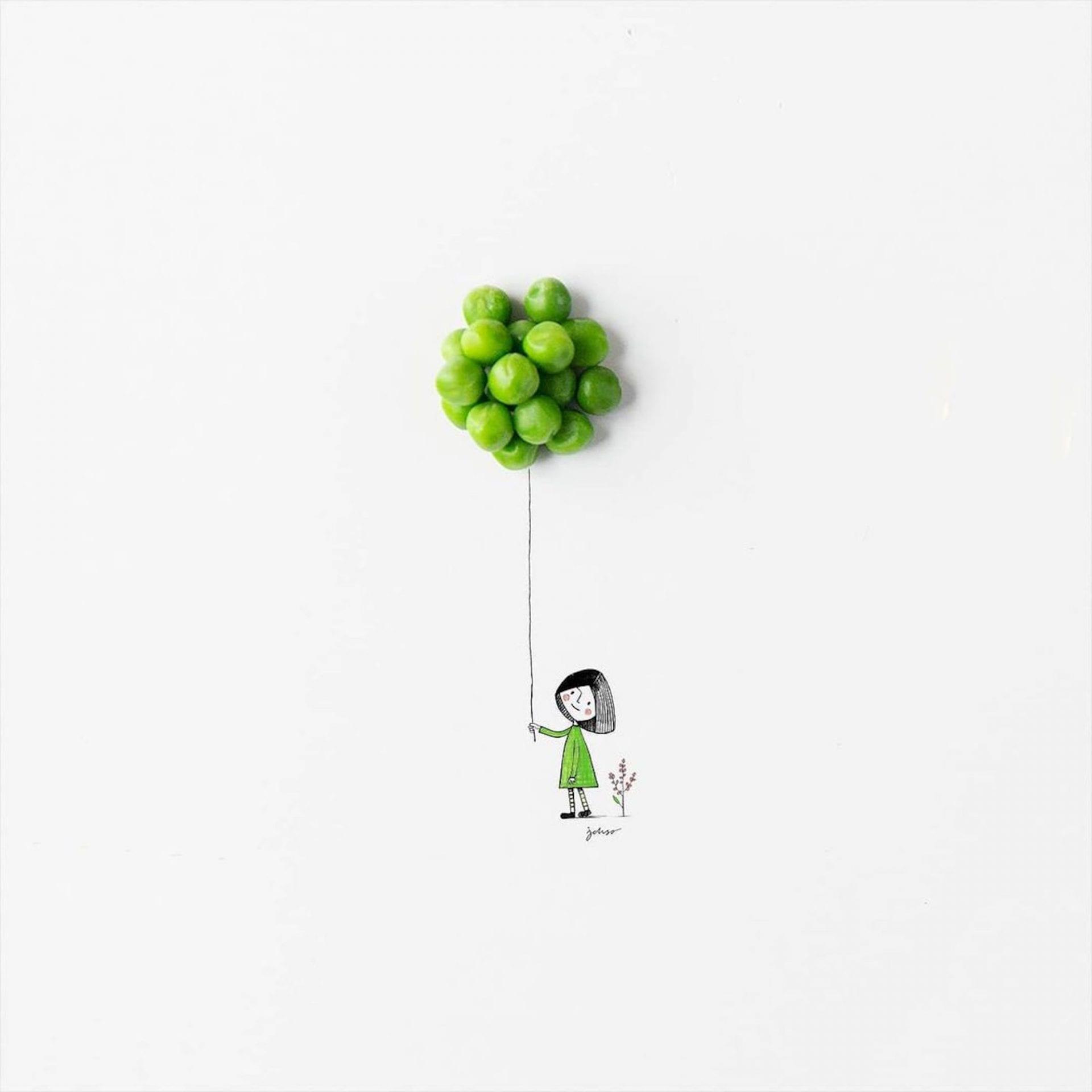 Le créatif Jesuso détourne les fruits et légumes pour créer des illustrations adorables