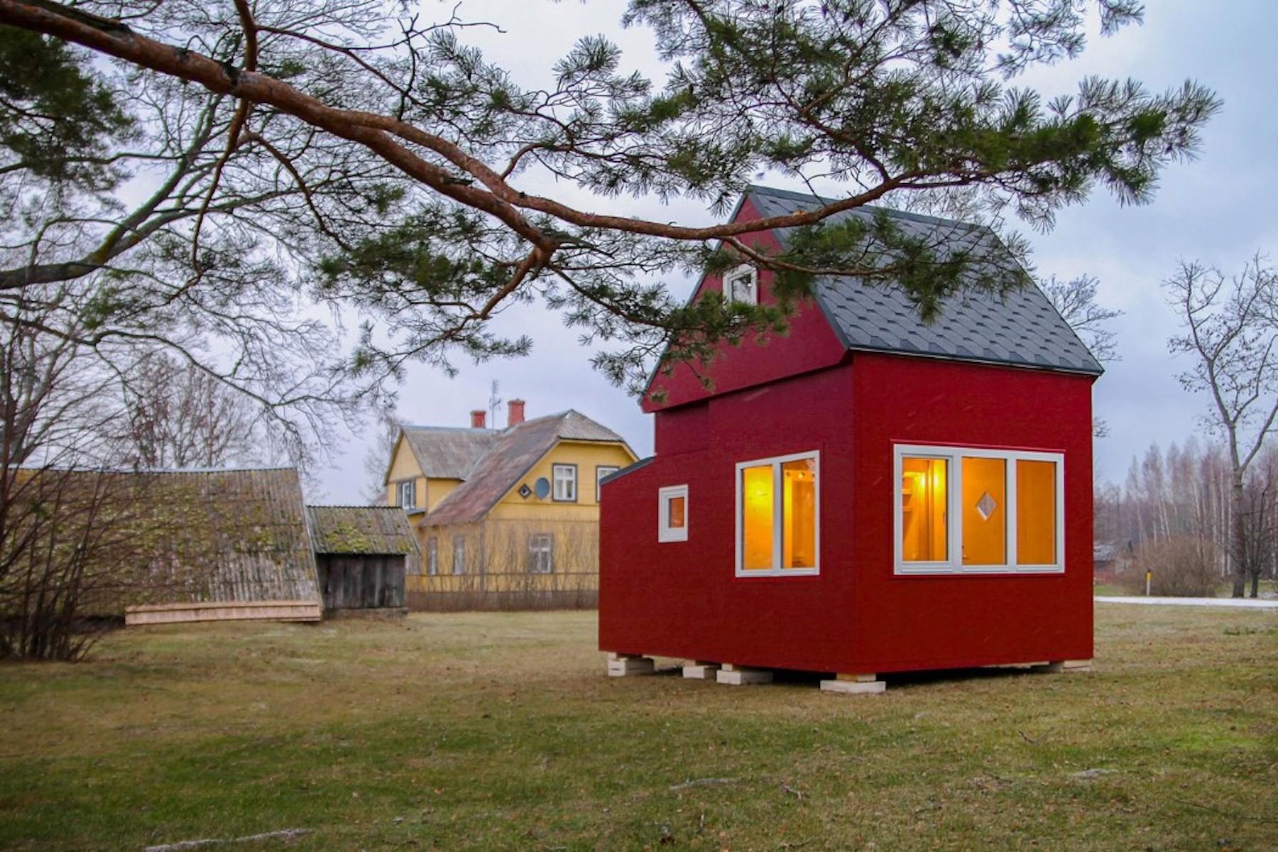Brette Haus : la maison pliable qui s'installe en un clin d'œil