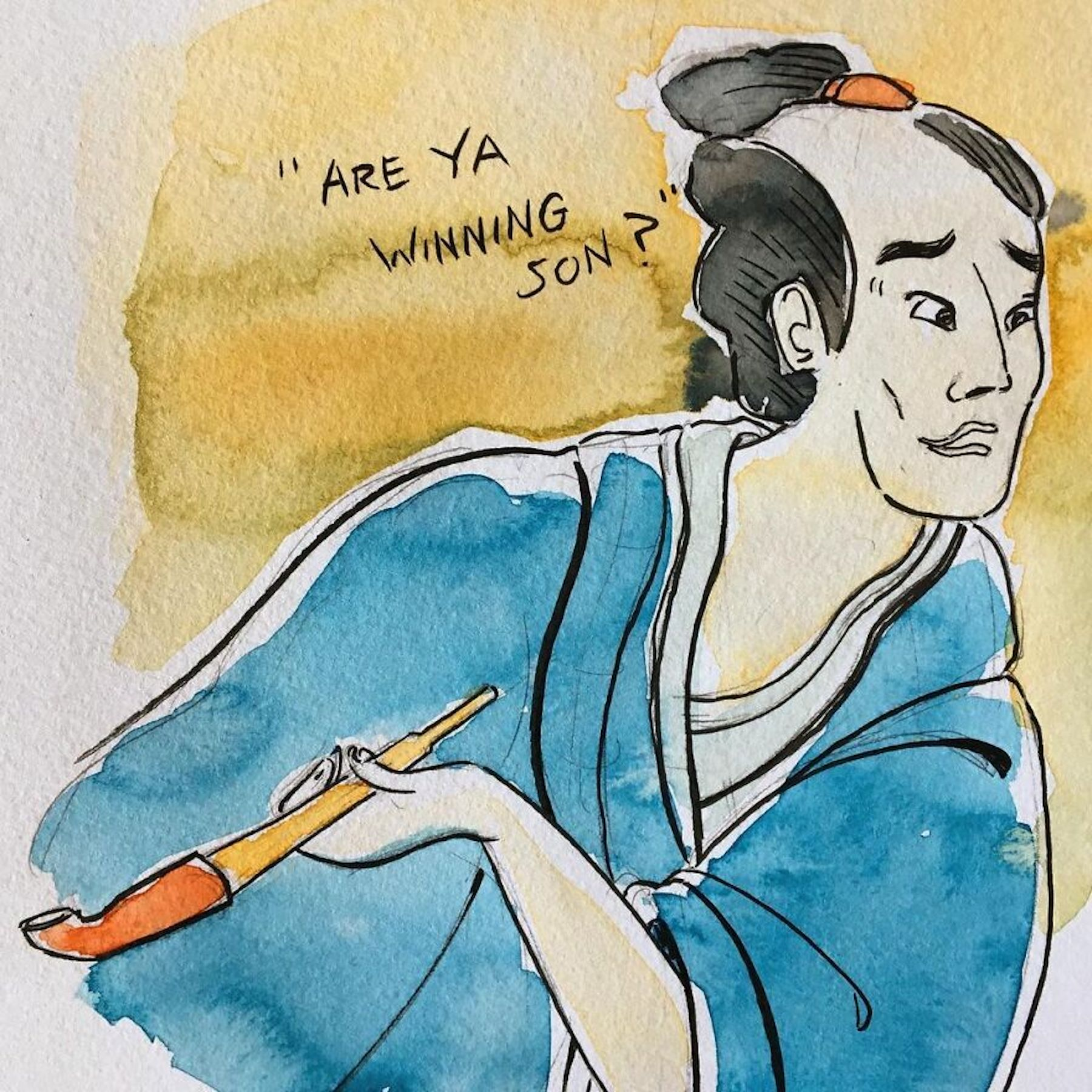 L'artiste Ukiyo Memes transforme les mèmes internet en estampes japonaises