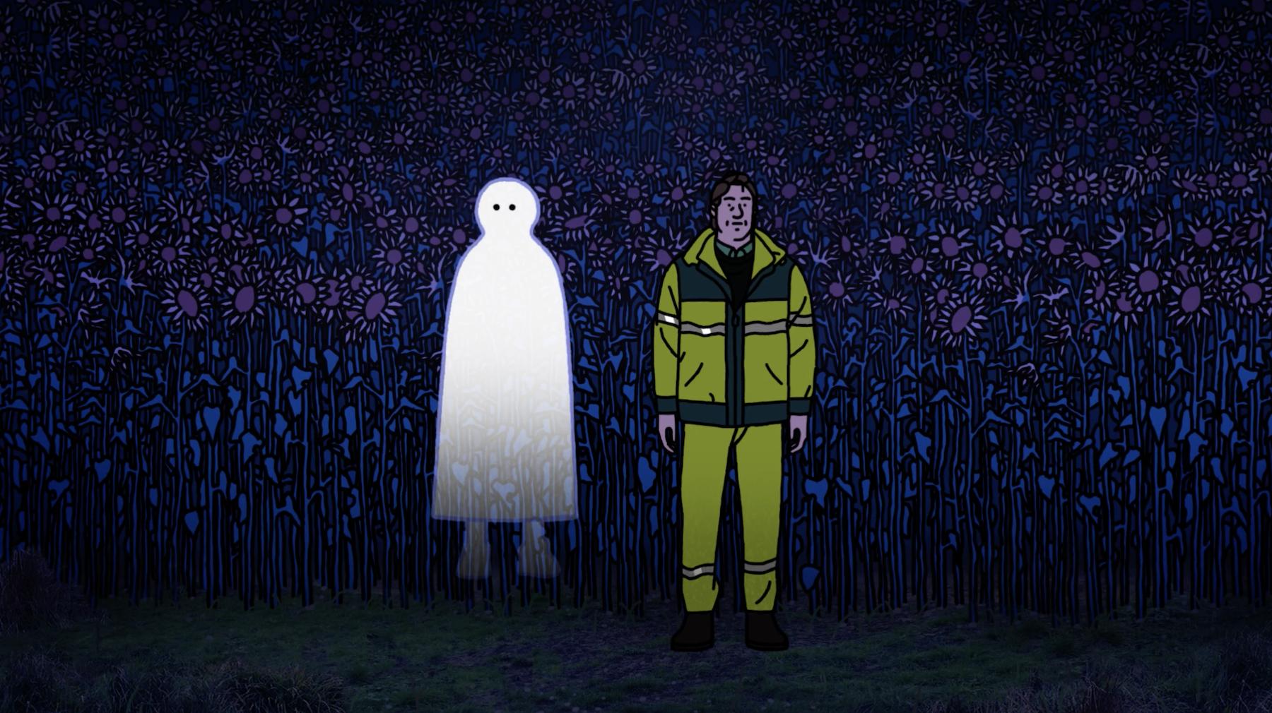 """""""Mon ami qui brille dans la nuit"""" : un film touchant qui aborde la mort avec poésie et créativité"""