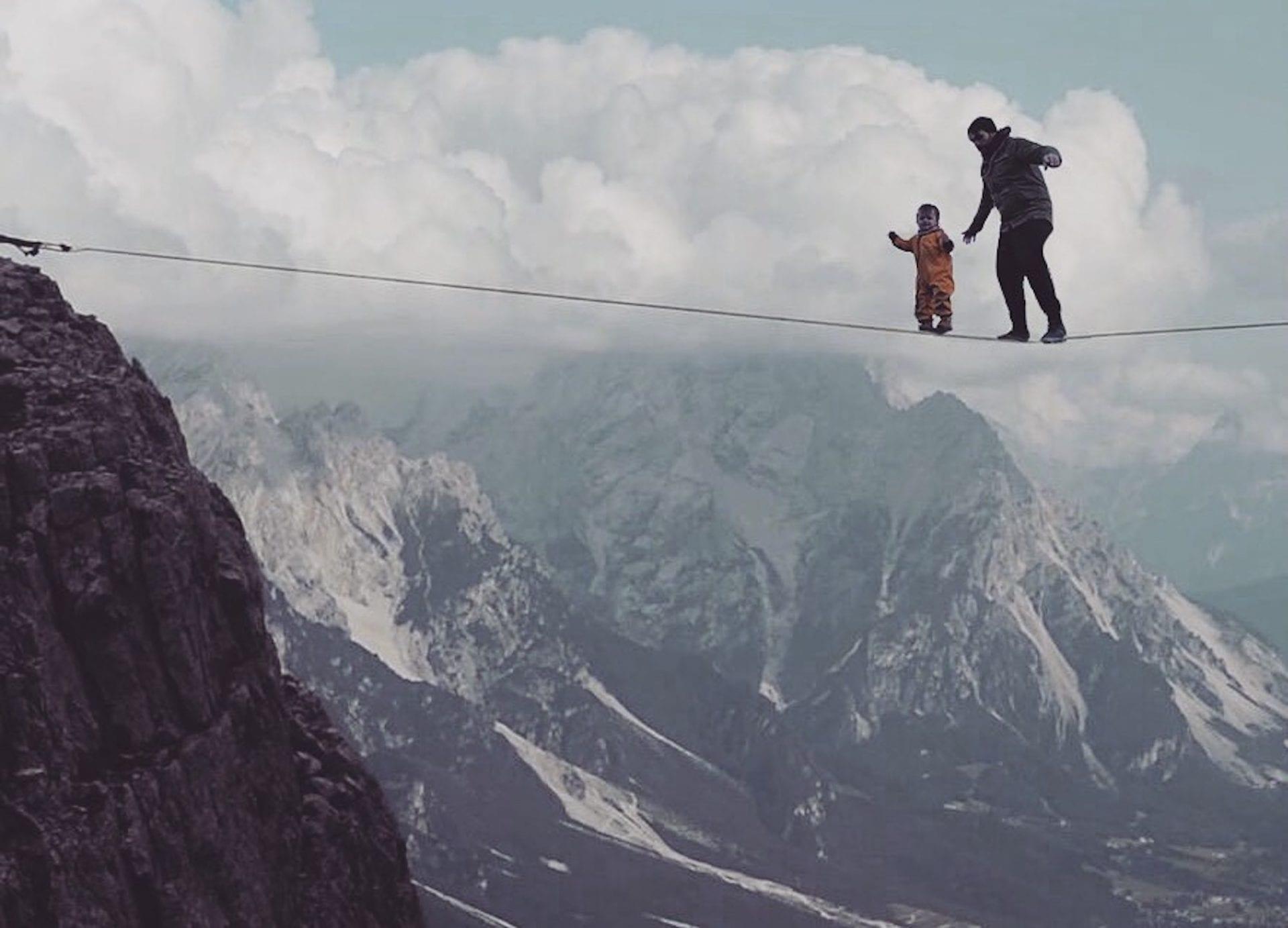On Adventure With Dad : le papa qui intègre sa fille dans des situations risquées pour faire paniquer sa femme