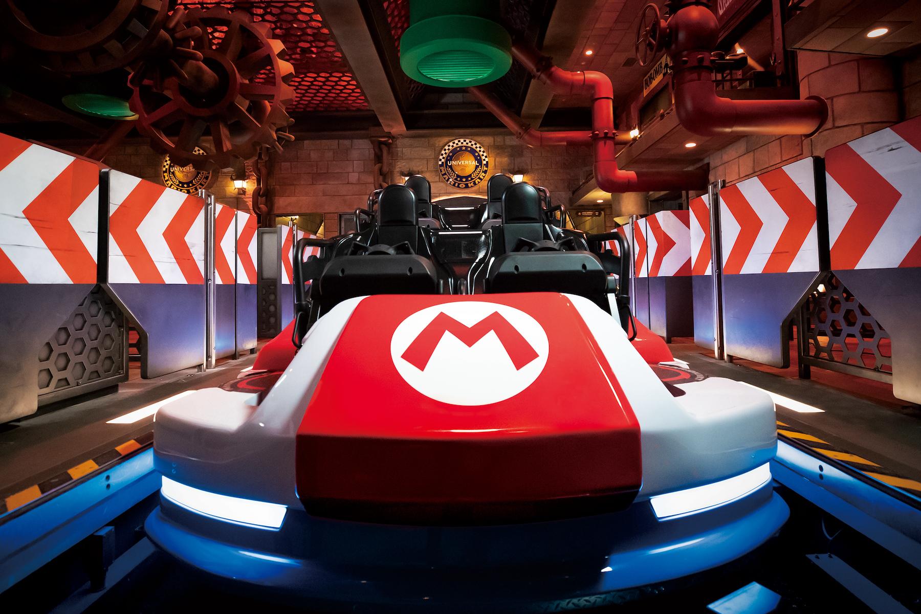 Nintendo dévoile les premières images de son parc d'attractions Super Nintendo World