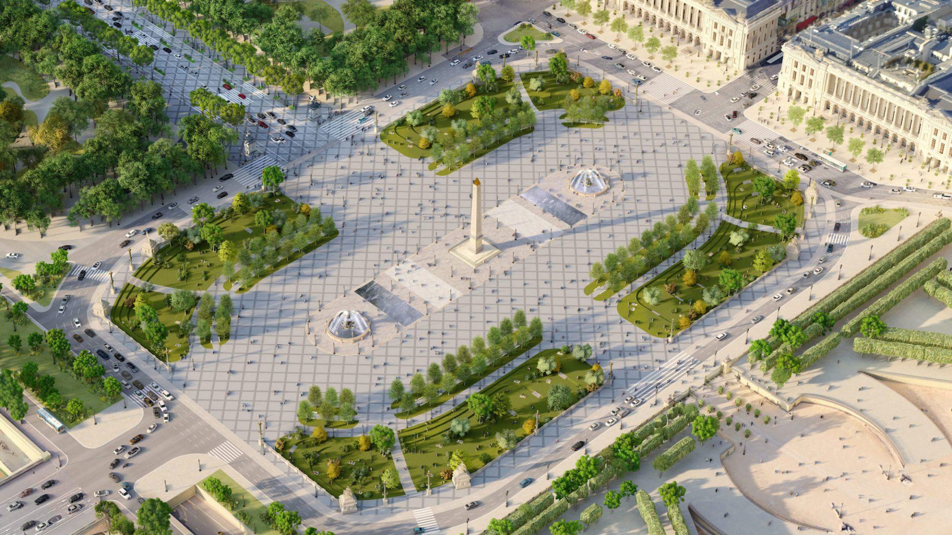 Les Champs des possibles : les Champs-Élysées en 2030