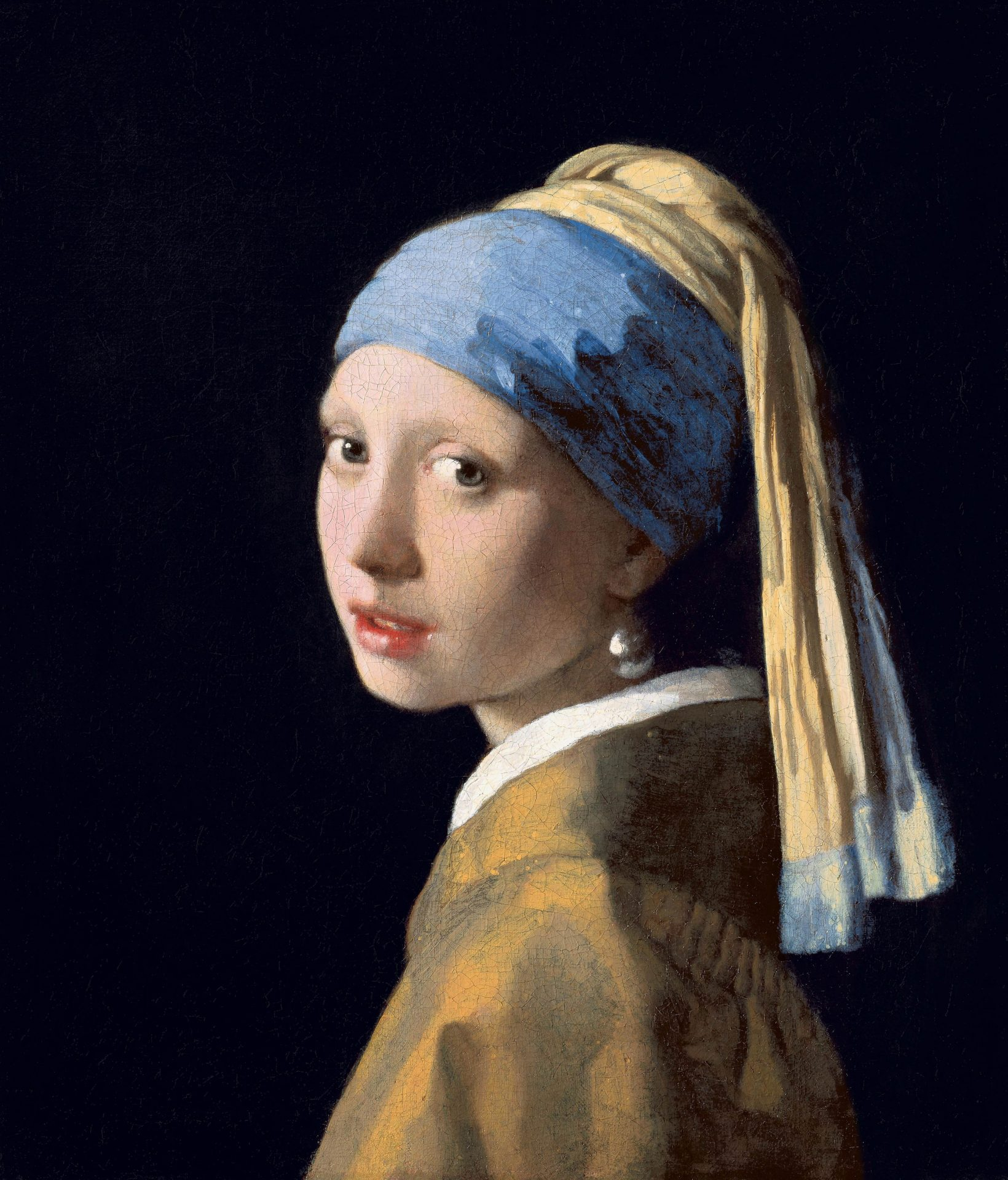 """La Jeune Fille à la perle"" de Johannes Vermeer (1665)"