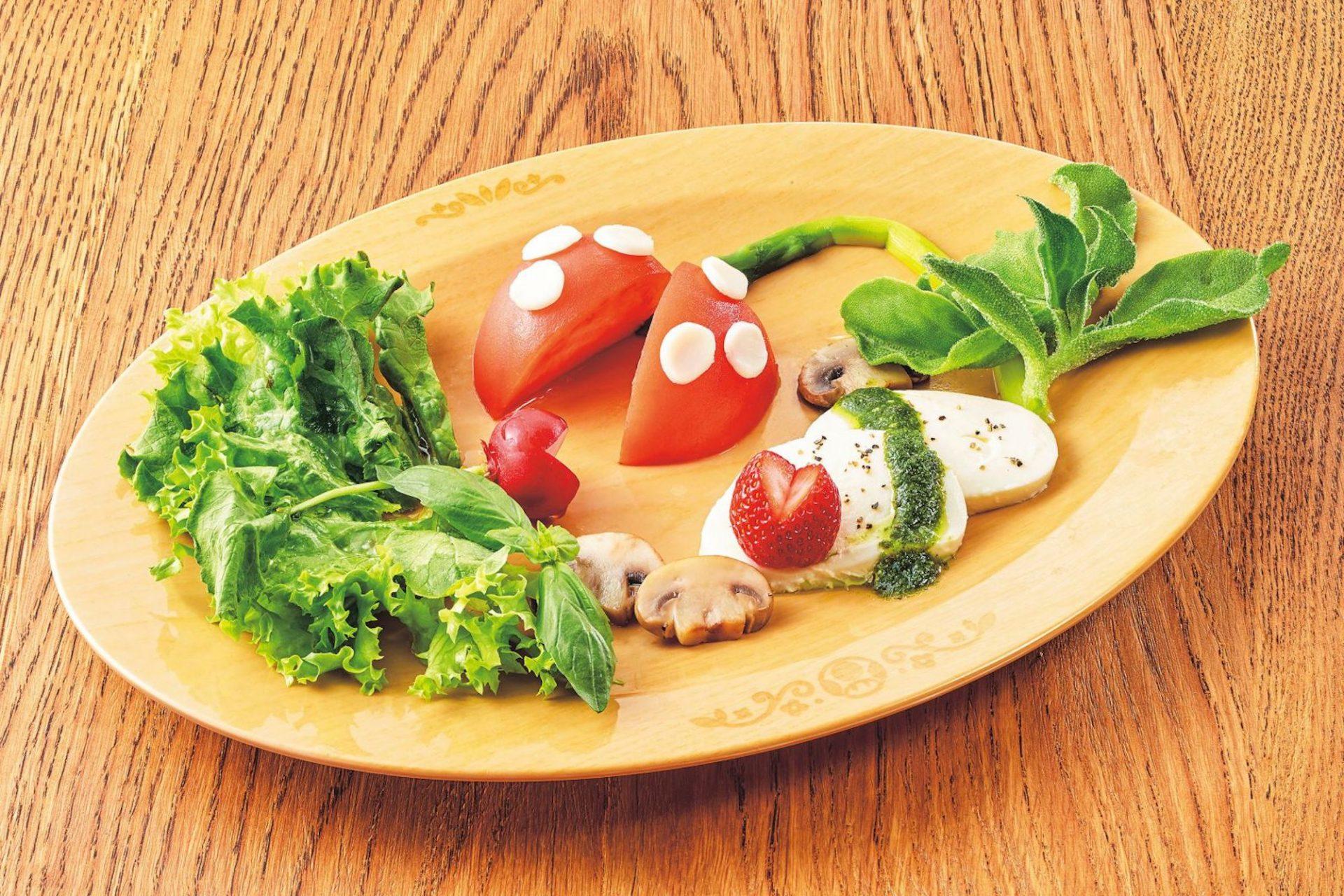 Les plats insolites du restaurant Nintendo au Super Nintendo World