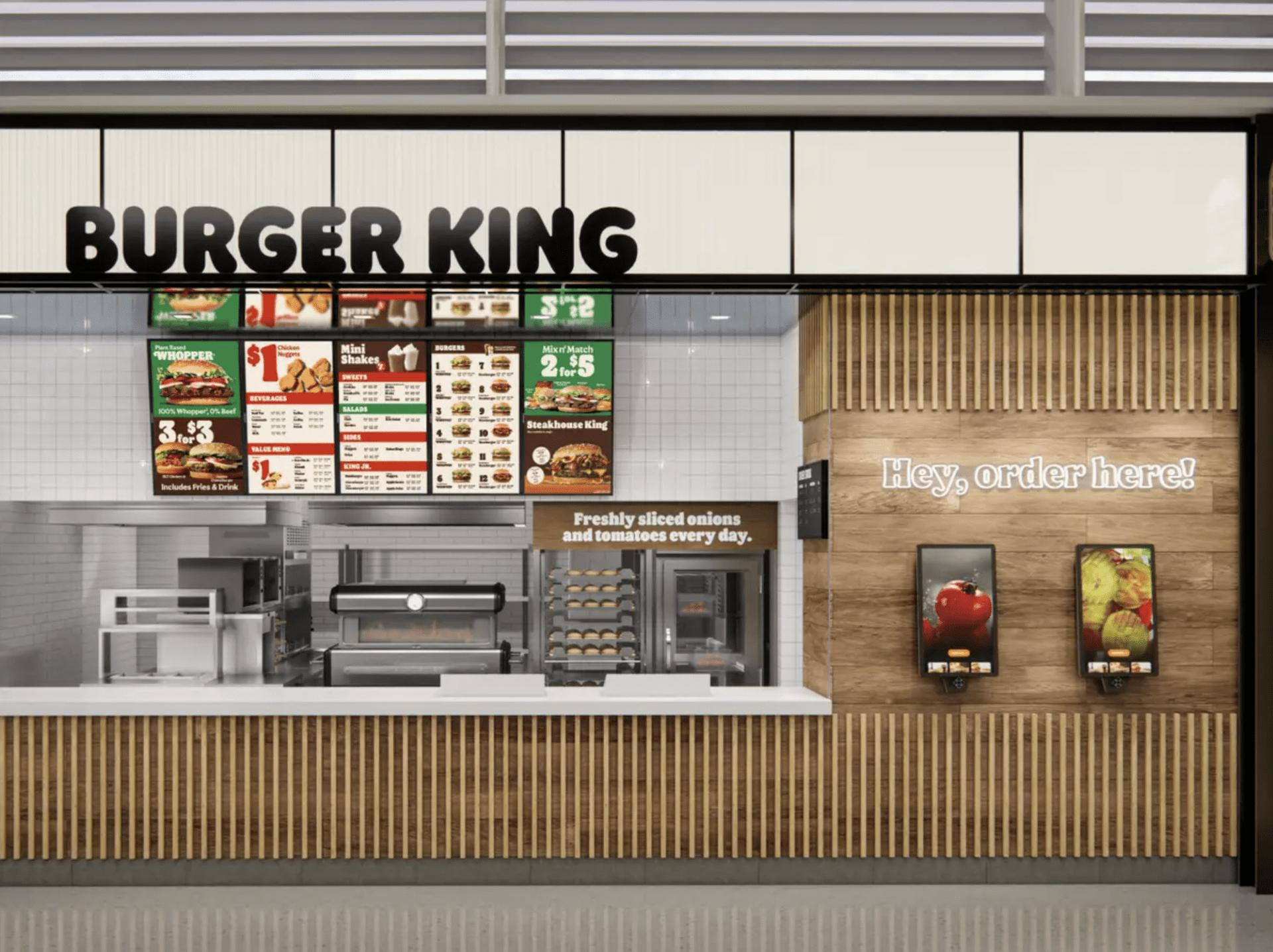 Nouveau branding de Burger King