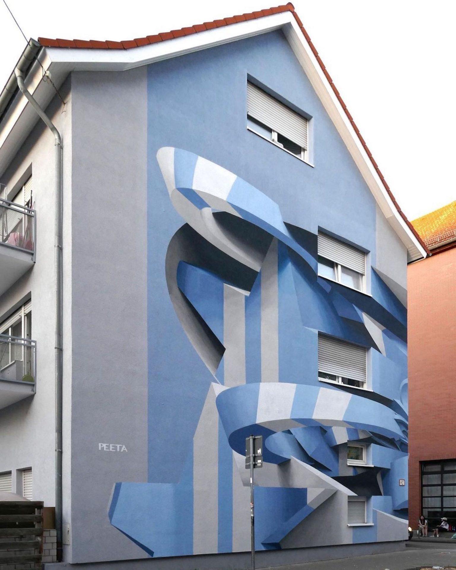 L'artiste Peeta transforme la ville avec ses incroyables illusions d'optique 3D