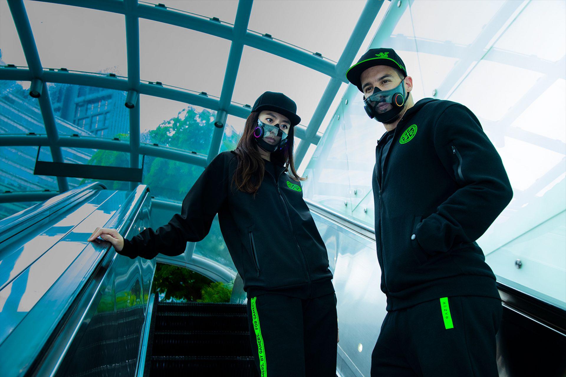 Razer conçoit un masque de protection qui s'illumine pour les gamers